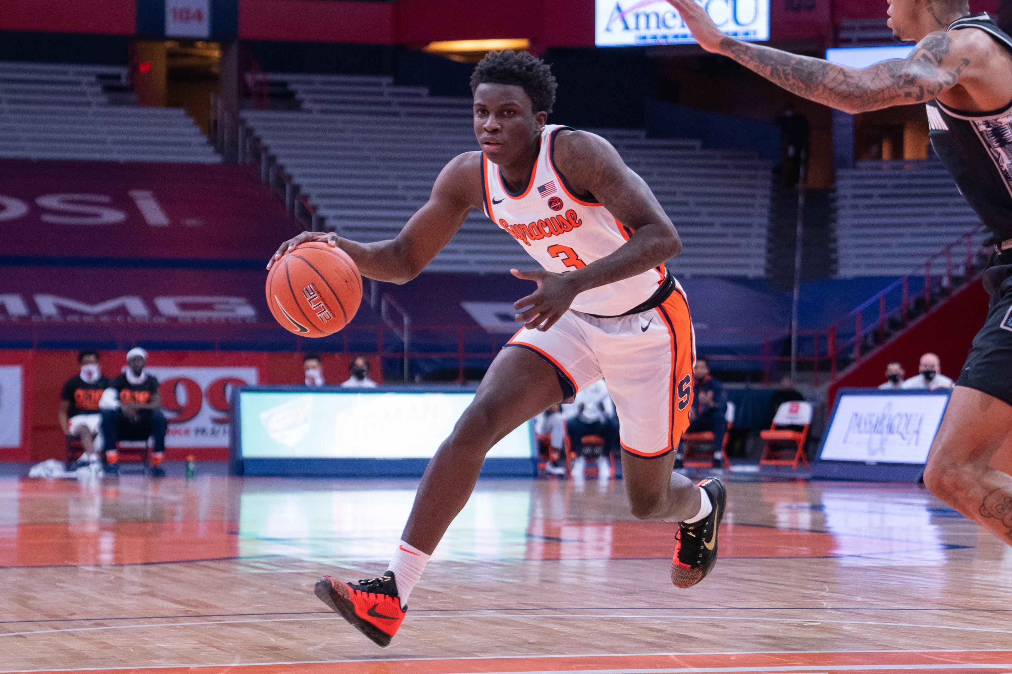 NCAA Basketball: Georgetown at Syracuse