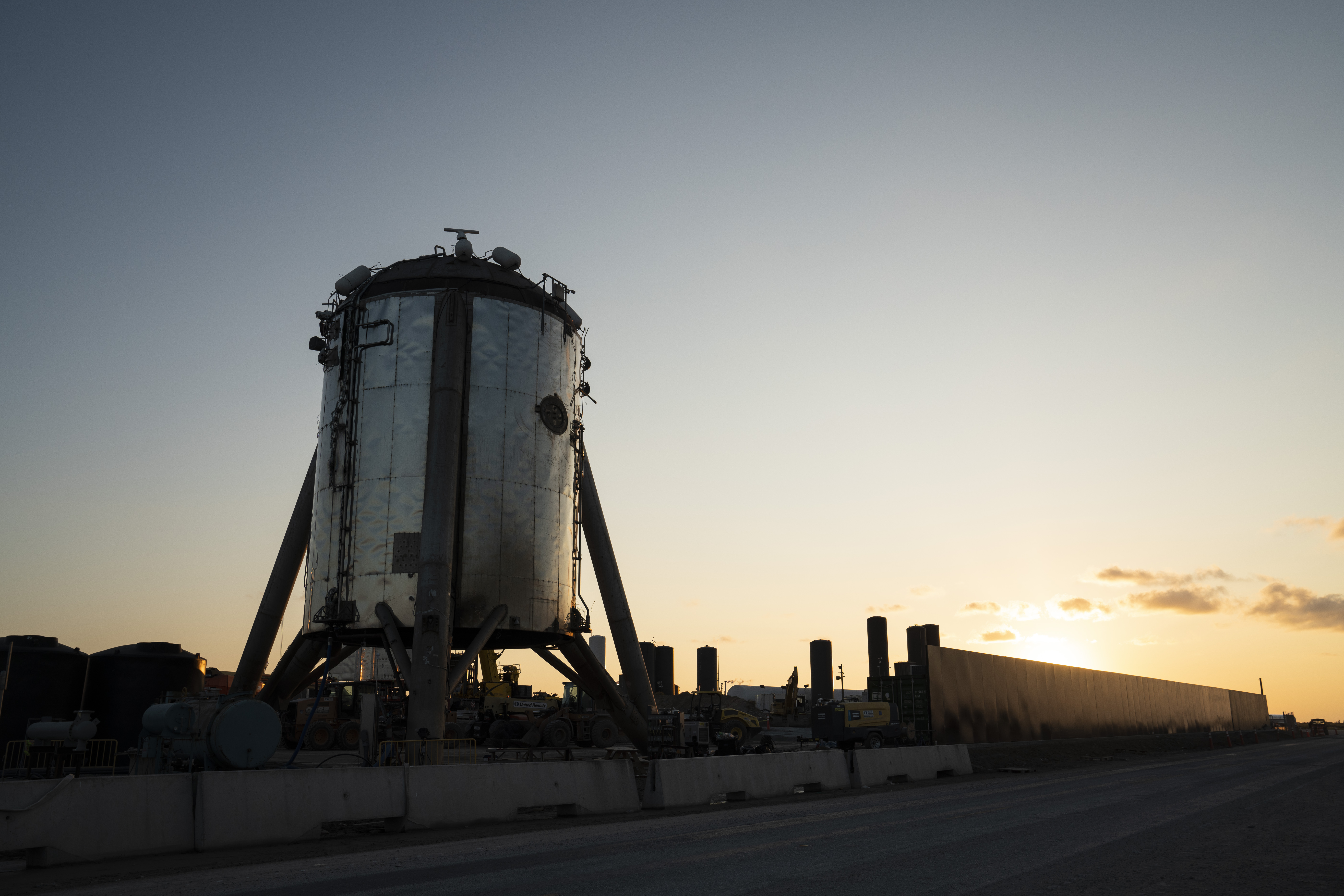 A Starship prototype in Boca Chica