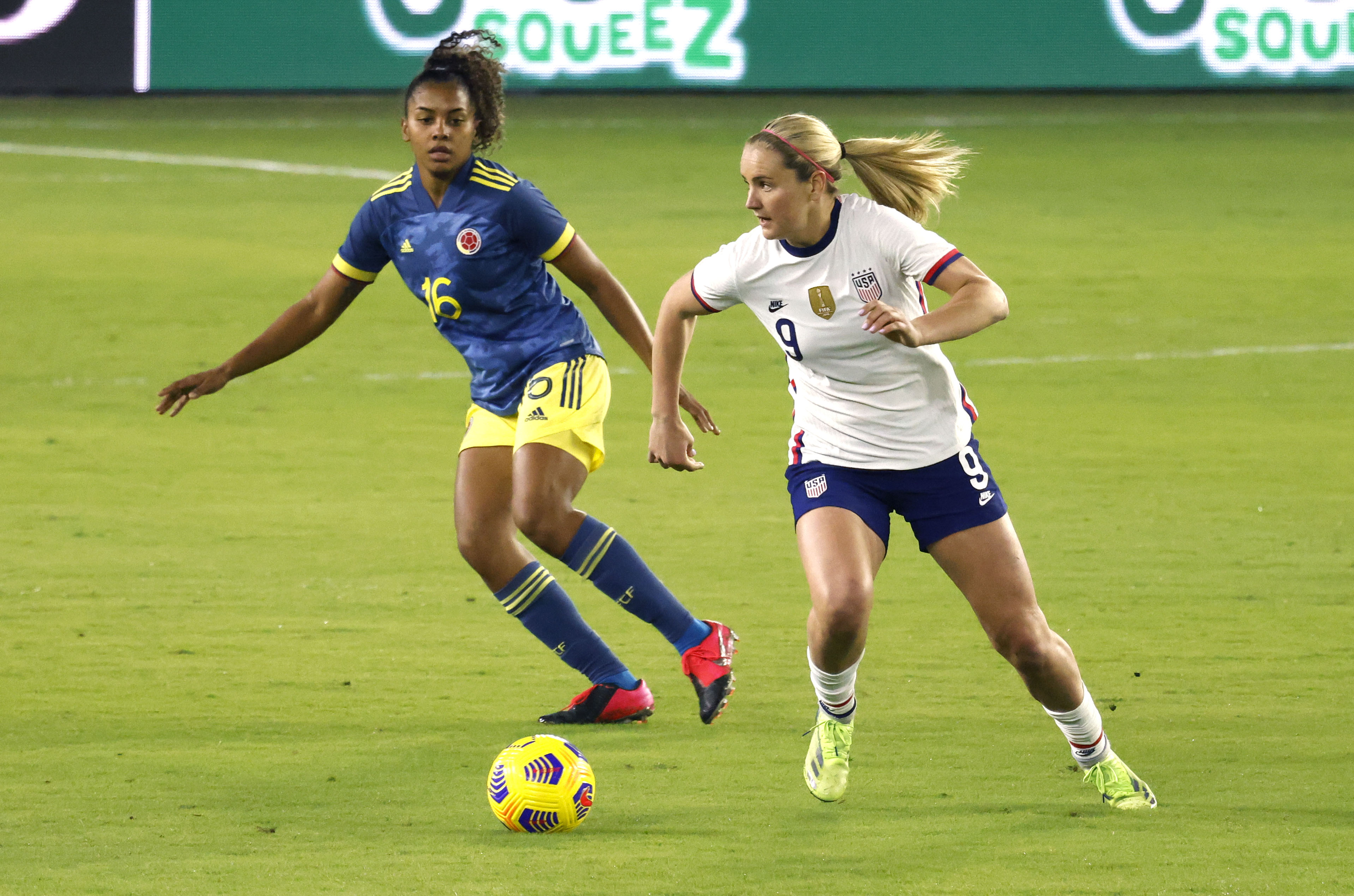 Soccer: U.S. Women's National Team International Friendly Soccer-Colombia at USA