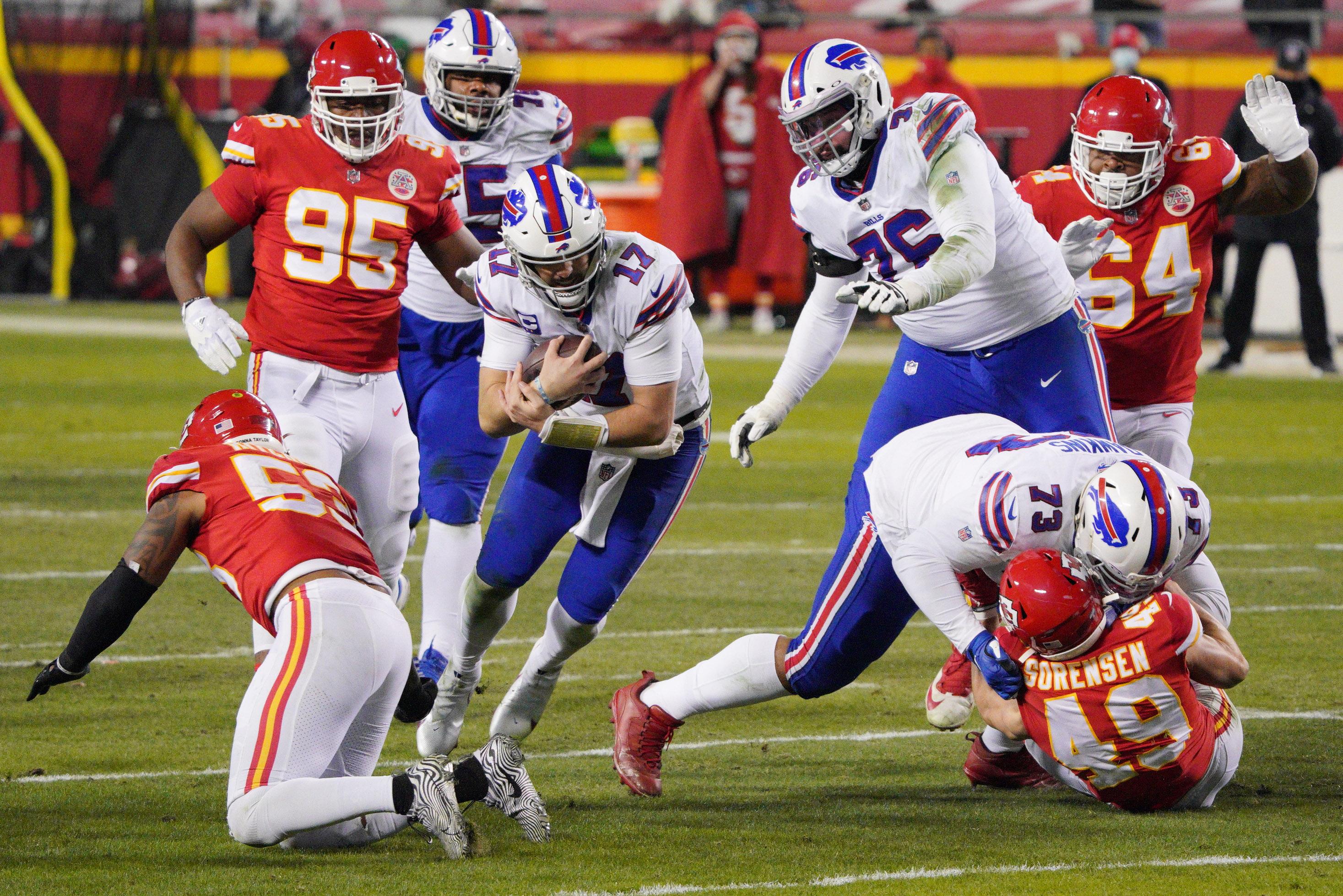 NFL: AFC Championship Game-Buffalo Bills at Kansas City Chiefs