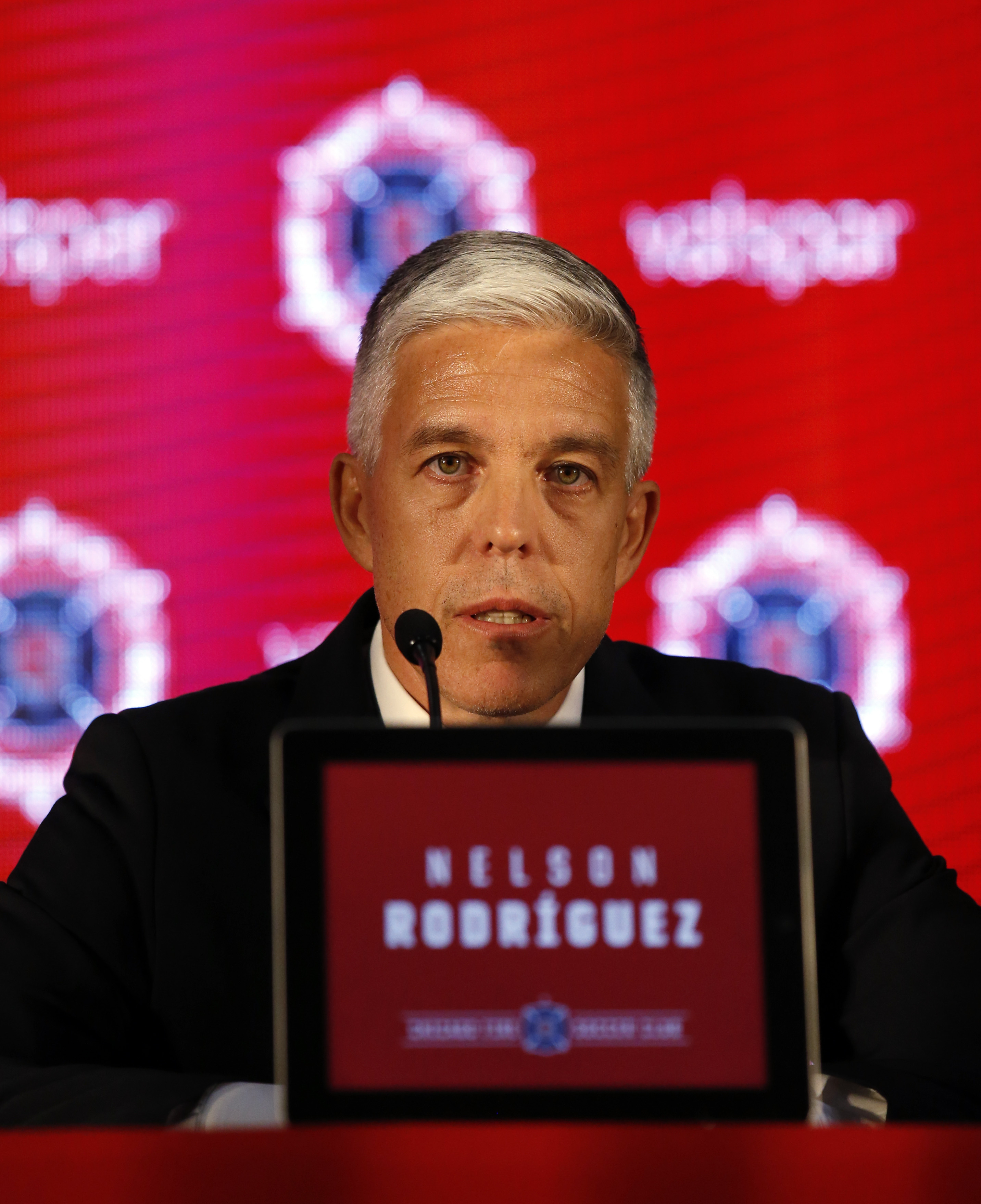 Club president Nelson Rodriguez has resigned from the Fire.