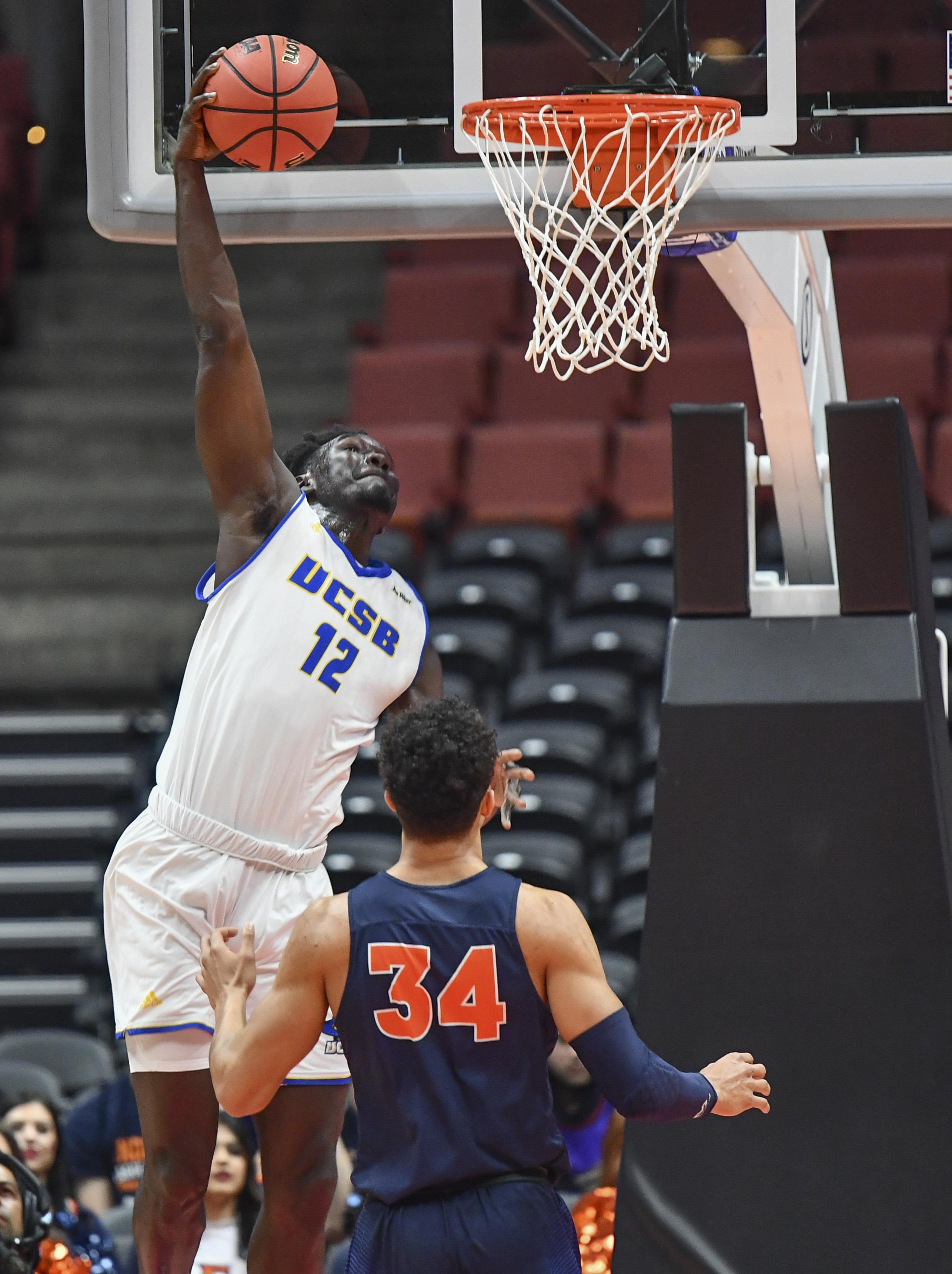 NCAA Basketball: Big West Conference Championship-Cal State Fullerton vs. UC Santa Barbara