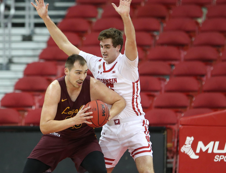 NCAA Basketball: Loyola-Chicago at Wisconsin