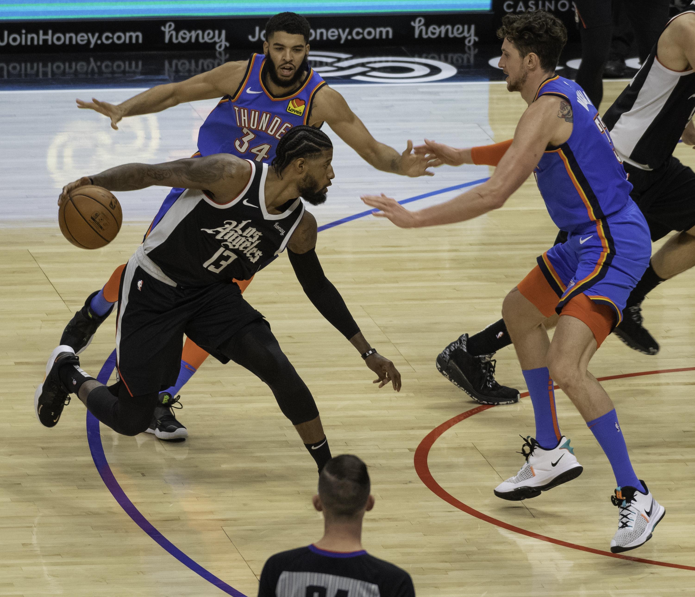 NBA: JAN 24 Thunder at Clippers