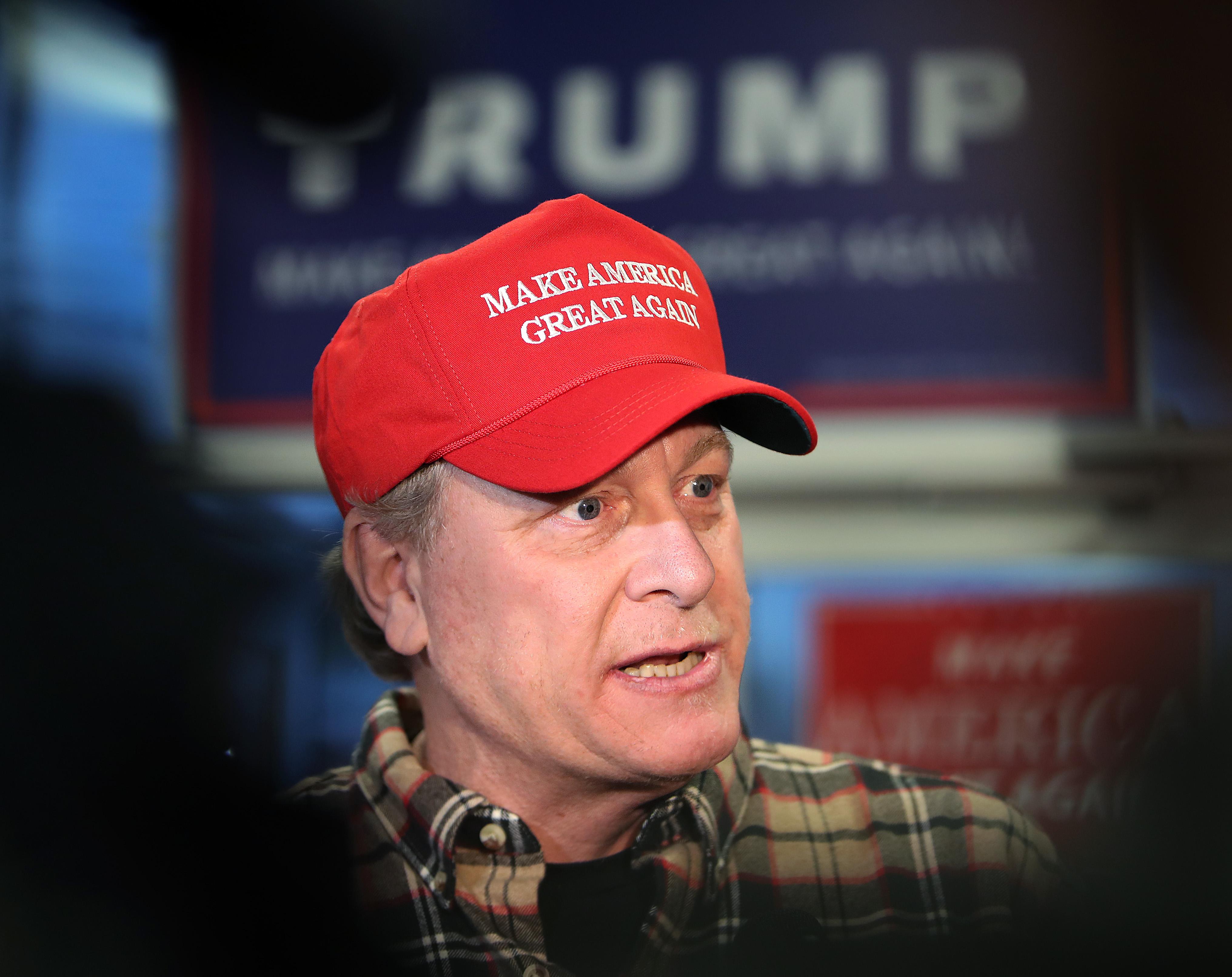 Curt Schilling Stumping For Donald Trump
