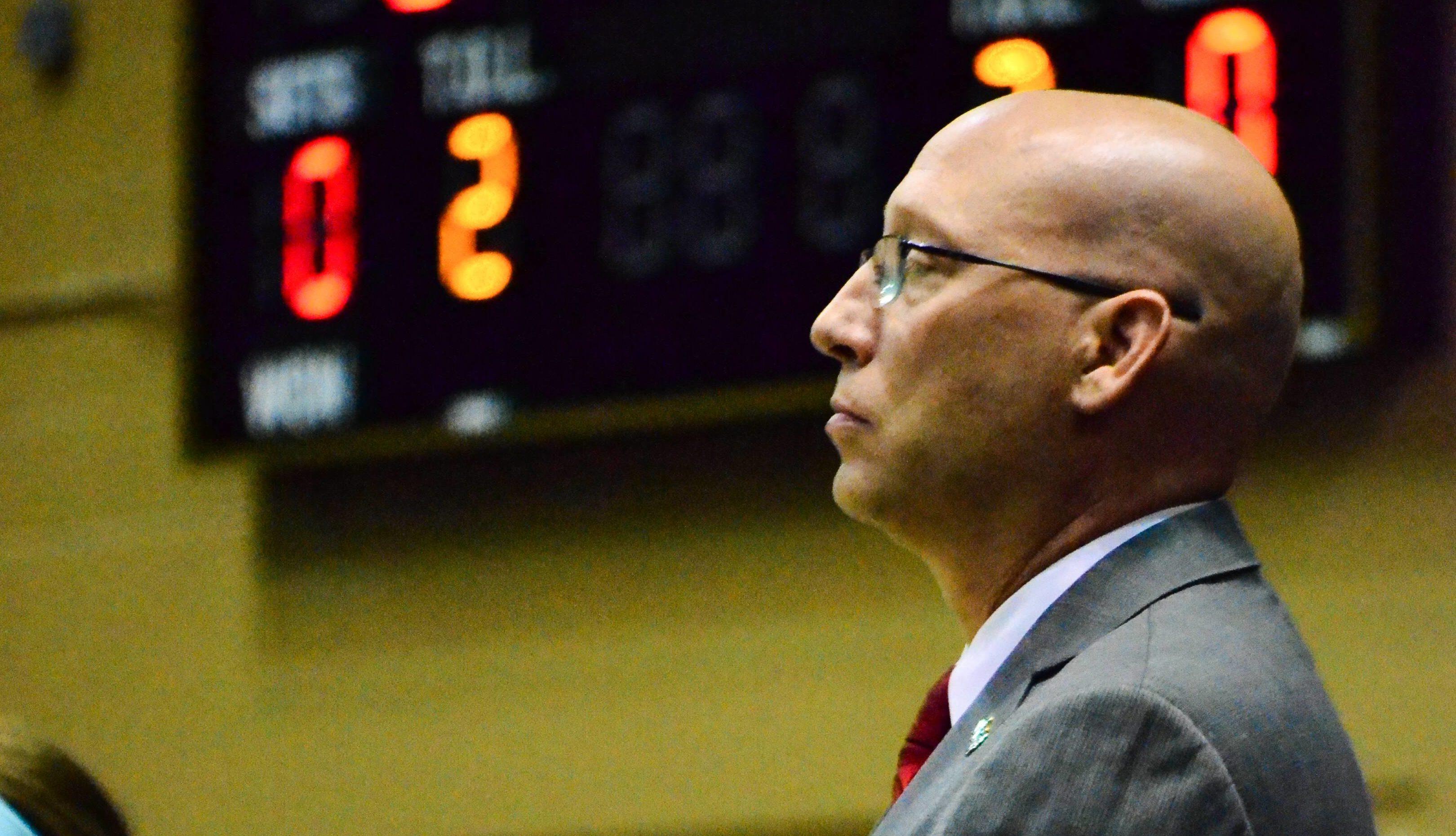 UCF Volleyball head coach Todd Dagenais (Photo: Derek Warden)