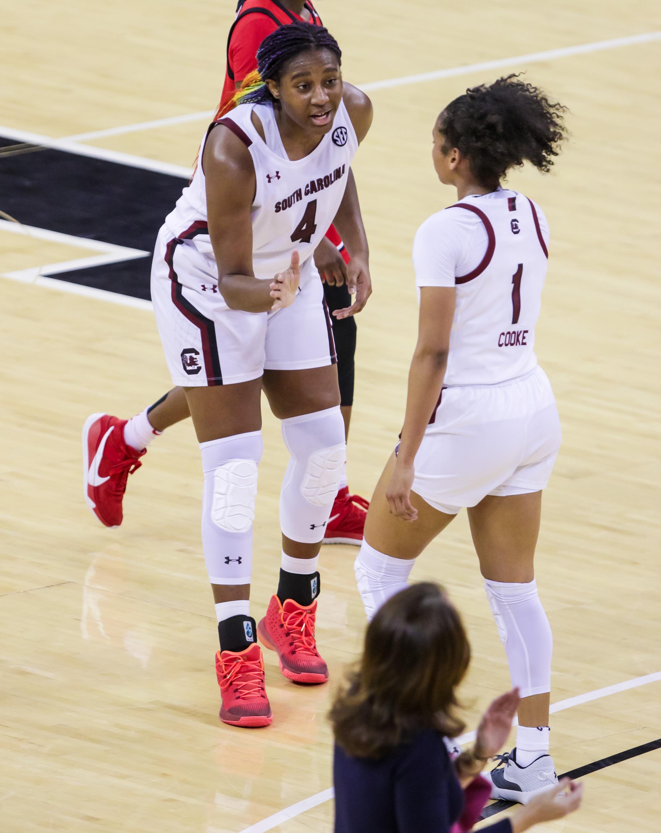 NCAA Womens Basketball: Georgia at South Carolina