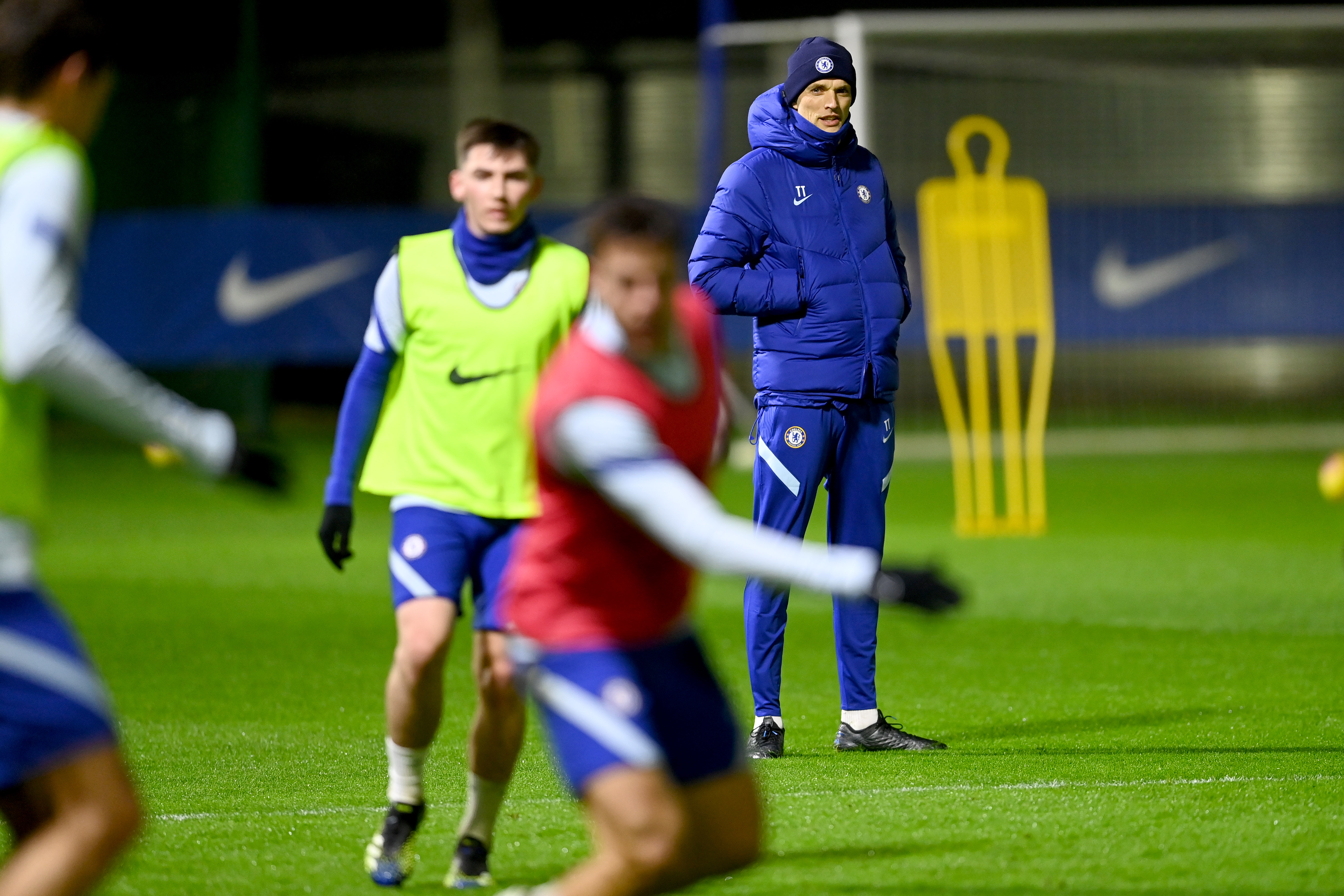 Thomas Tuchel - Chelsea Training and Press Conference