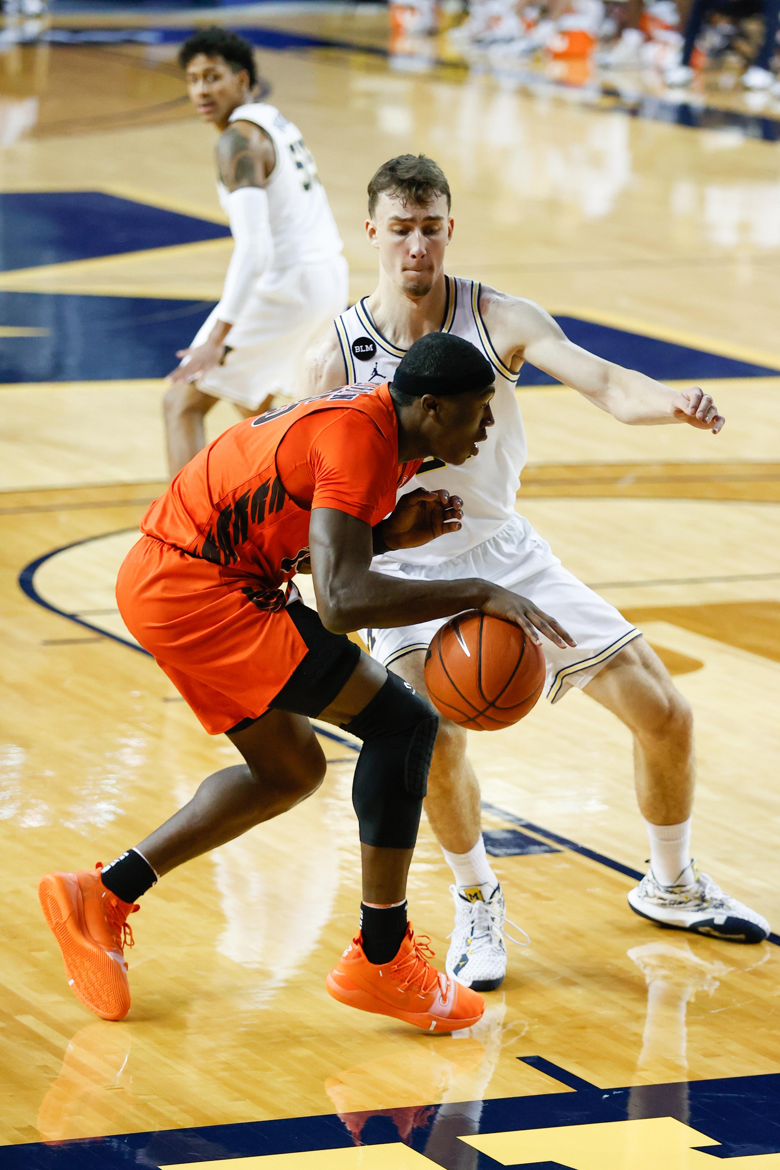 NCAA Basketball: Bowling Green at Michigan