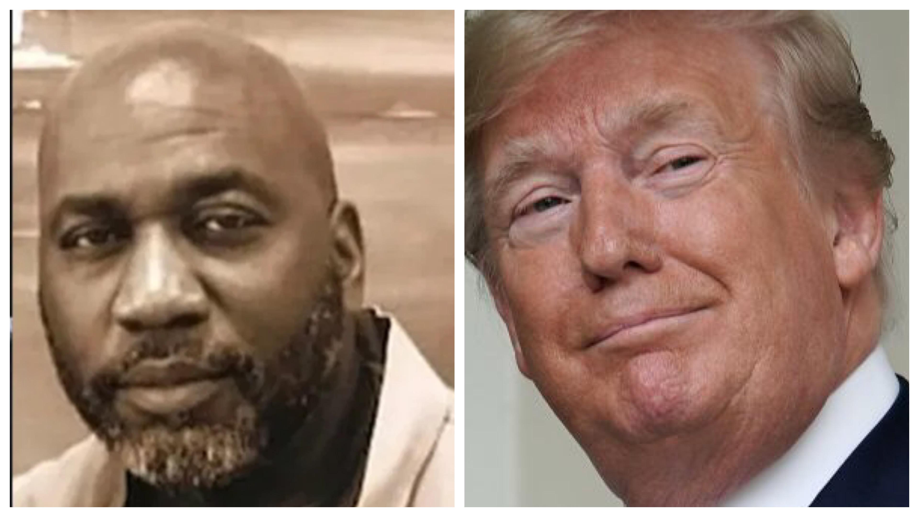 Michael Harris and Donald Trump
