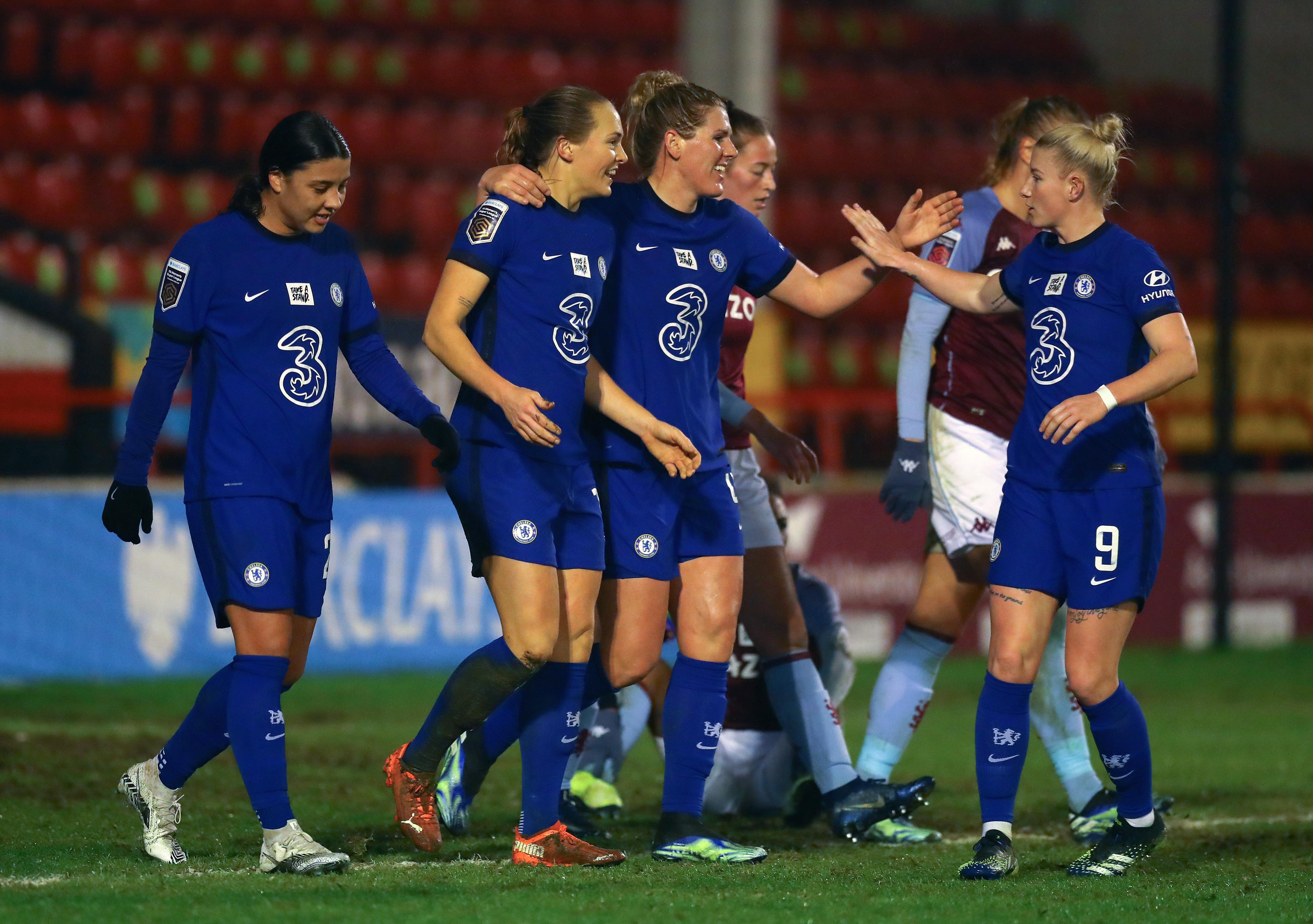 Aston Villa女士v Chelsea女性 - 巴克莱法妇女超级联赛