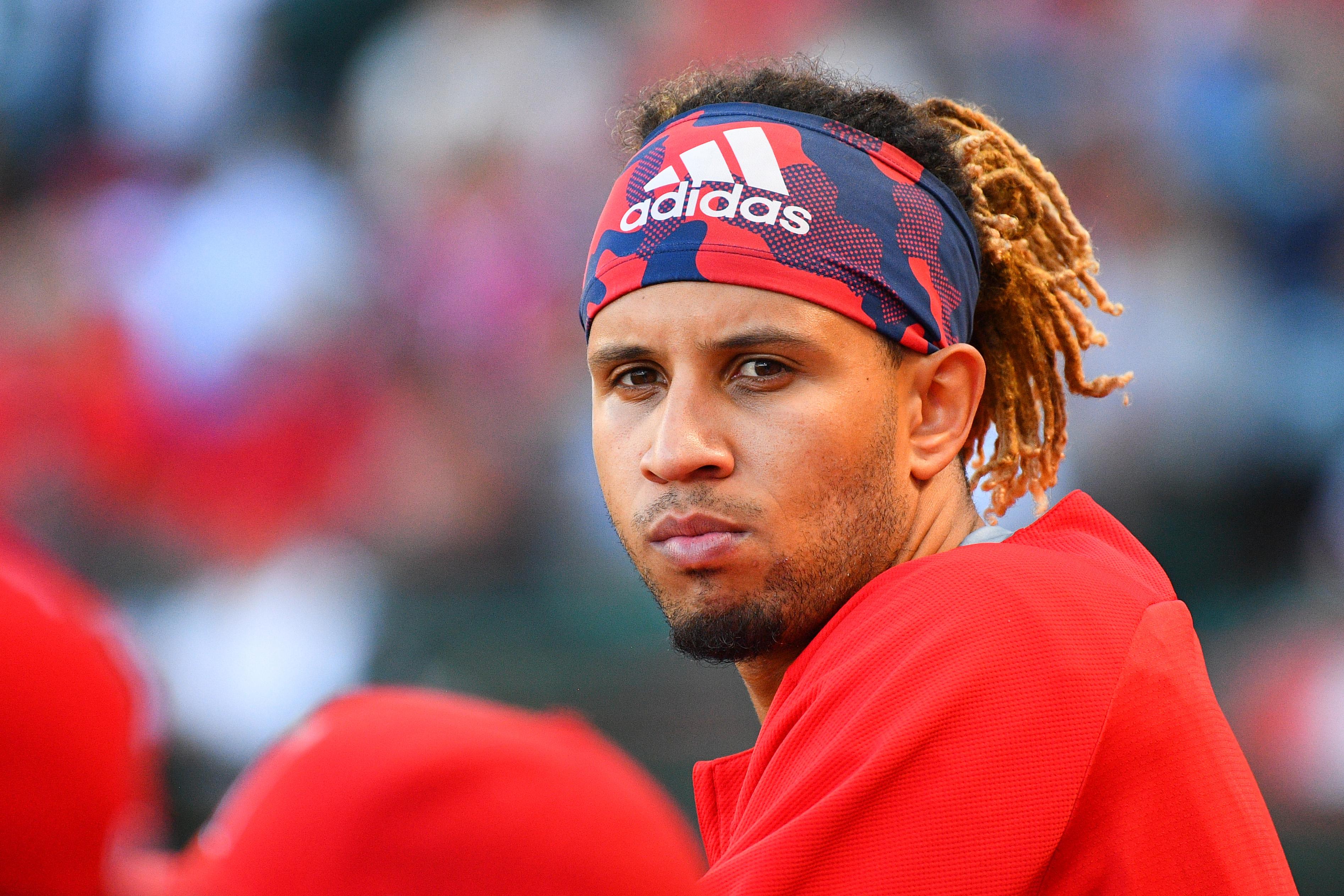 MLB: JUL 18 Astros at Angels