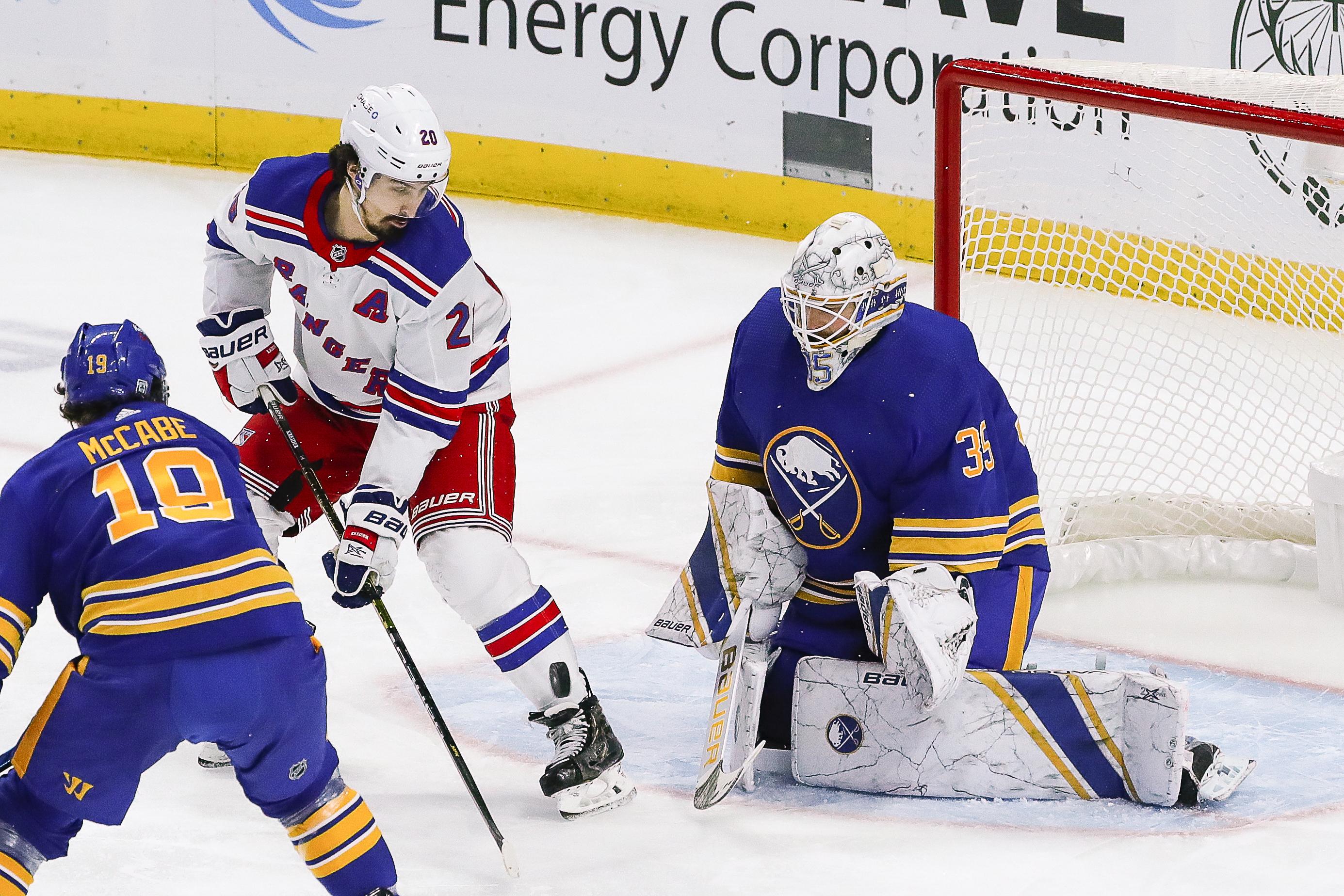 NHL: JAN 26 Rangers at Sabres