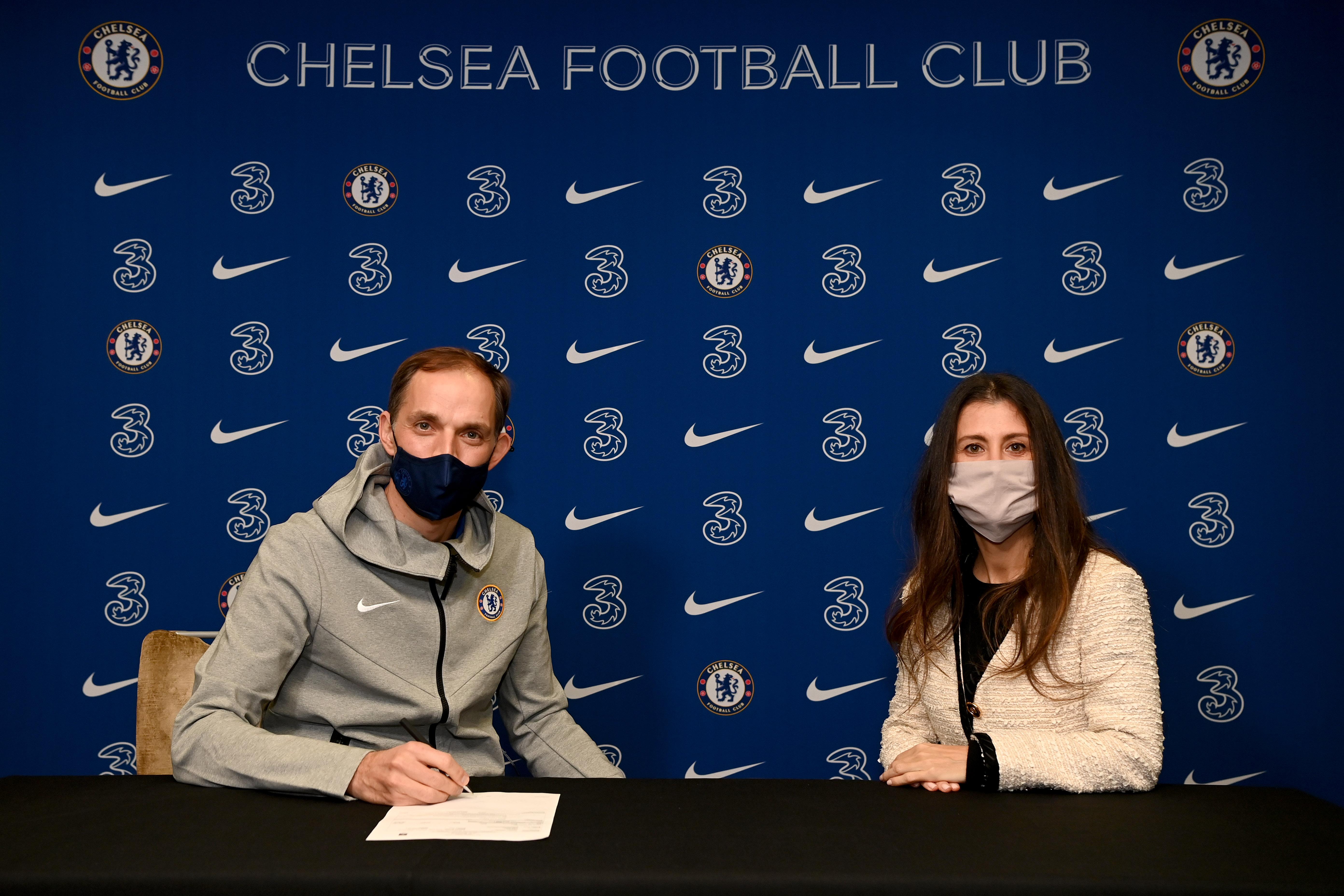 Chelsea Unveil New Manager Thomas Tuchel
