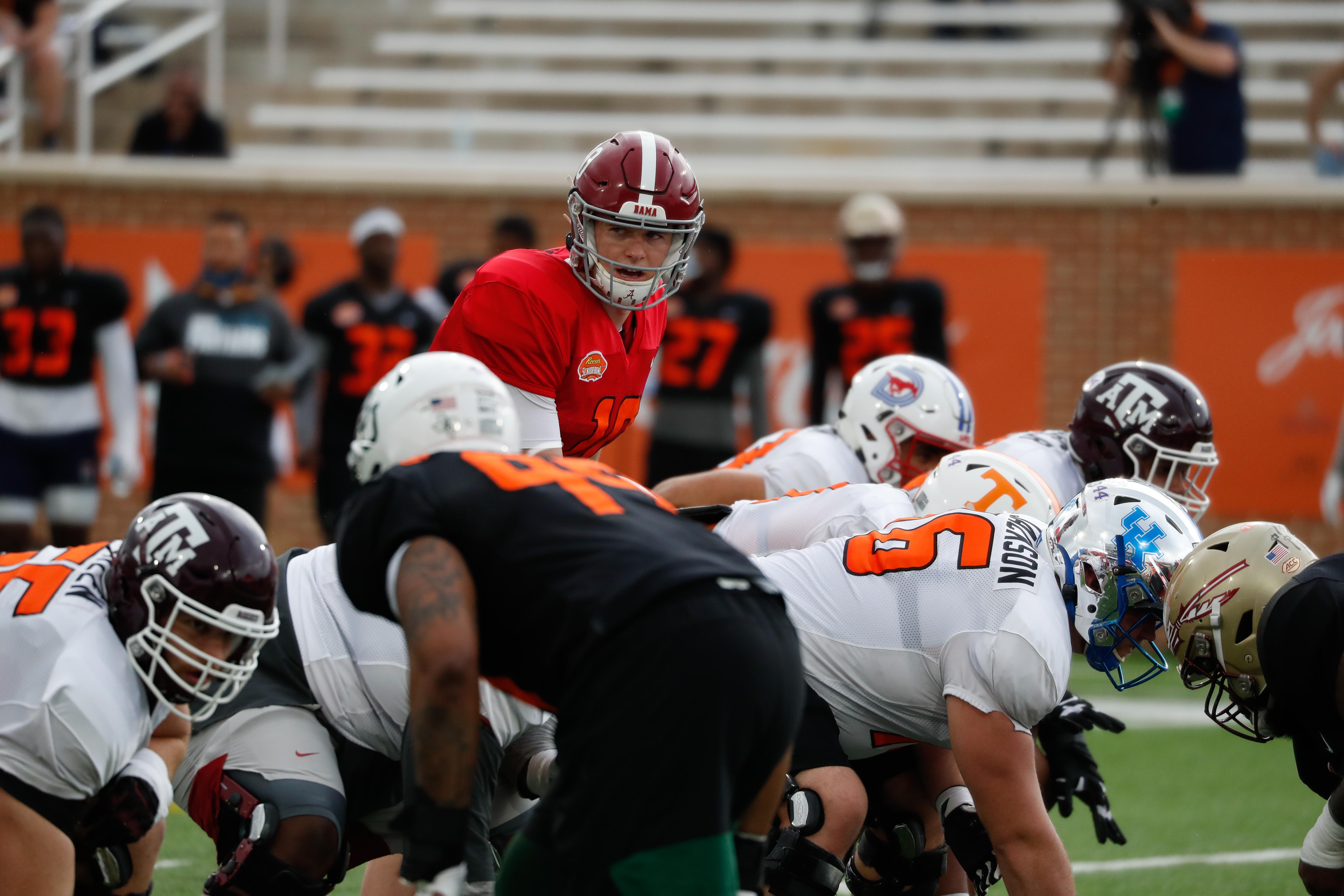 2021 Reese's Senior Bowl Practice