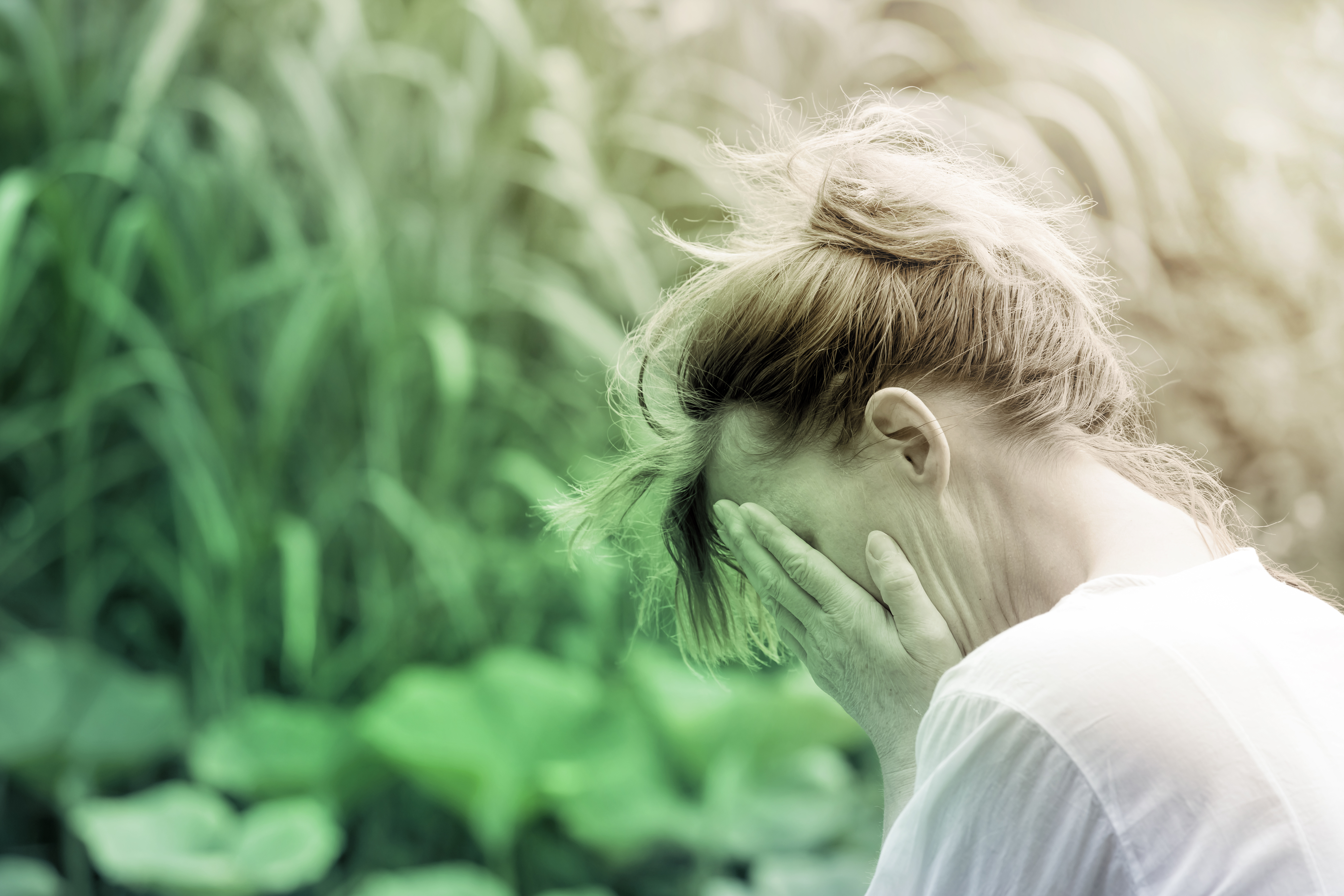 """""""Emotional exhaustion is this sense of overwhelmingness — overwhelmed to the point where you feel like you don't have the capacity to deal anymore,"""" one expert says."""
