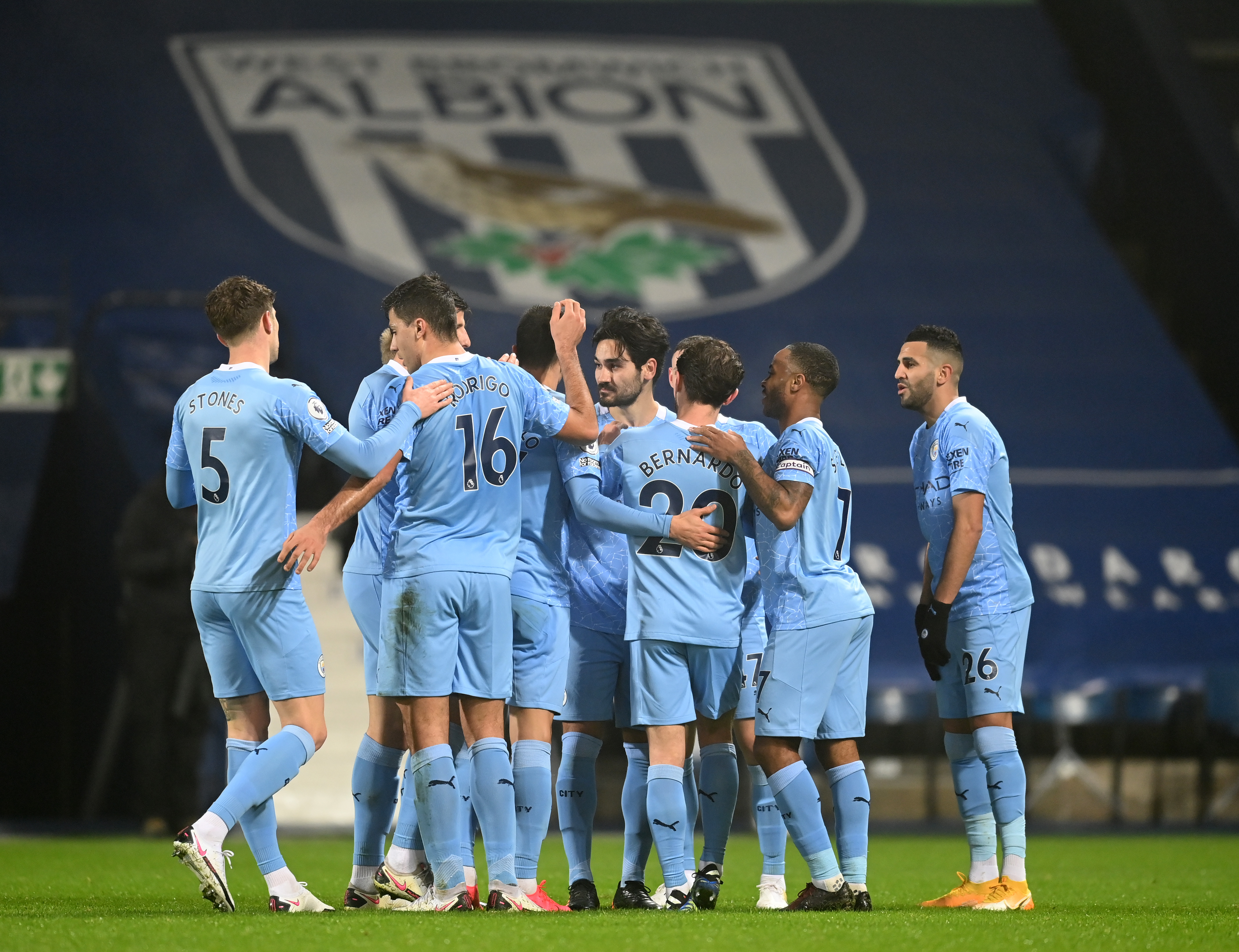 West Bromwich Albion V曼彻斯特市 - 英超联赛