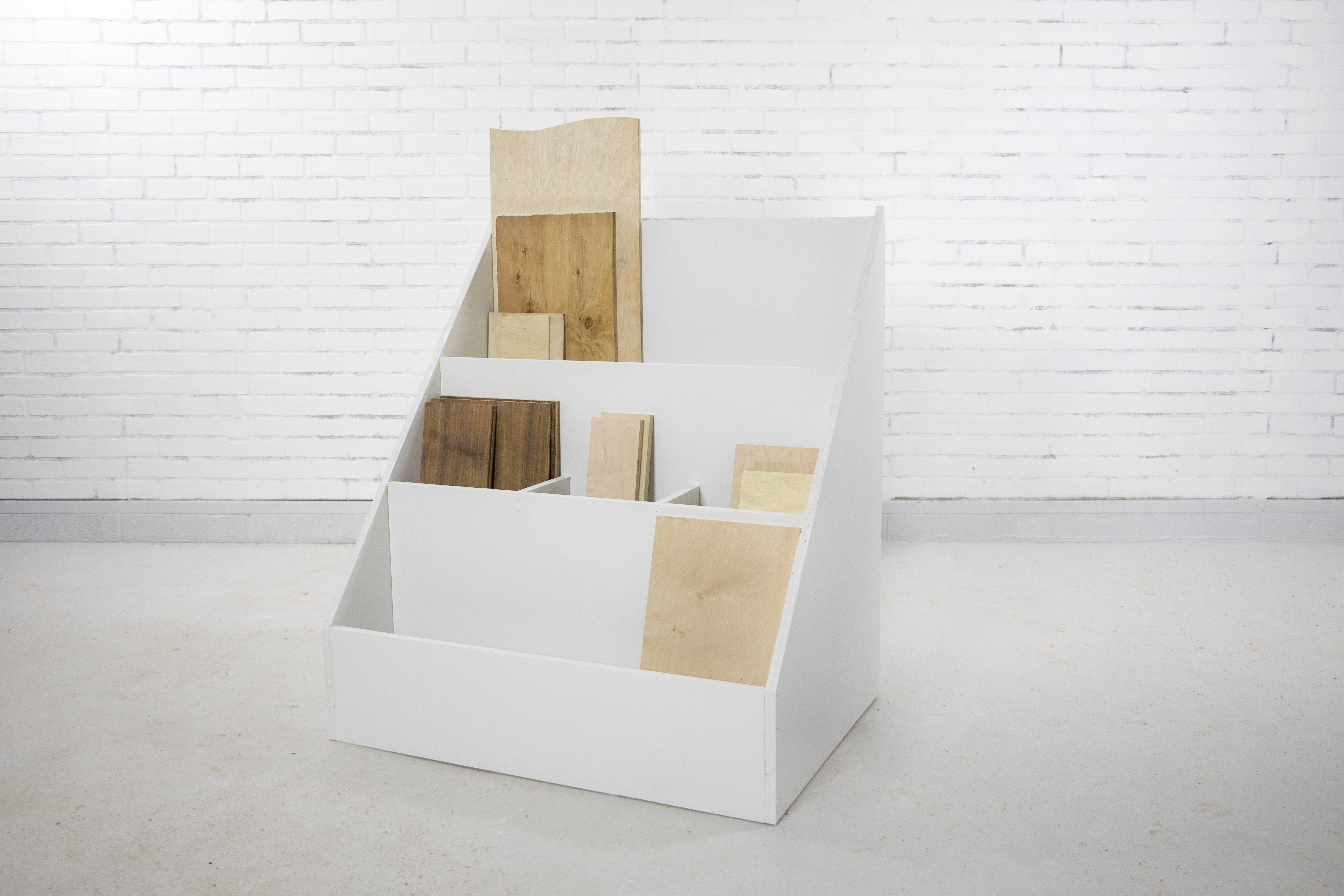 DIY Scrap Wood Storage