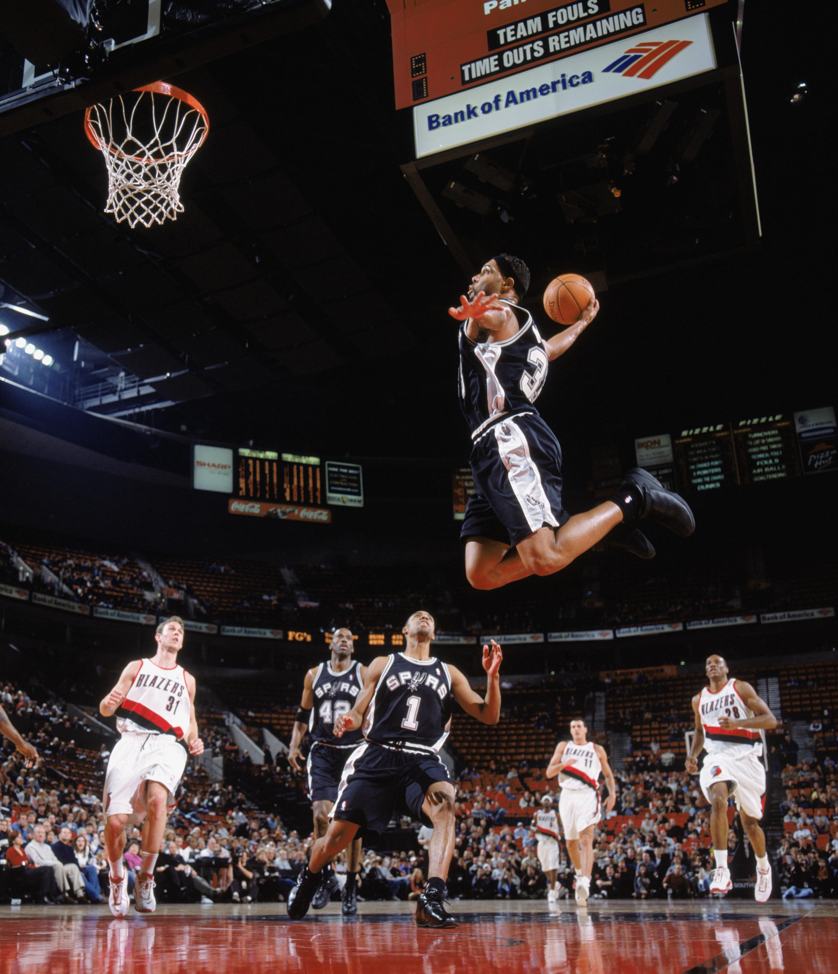 Spurs v Blazers
