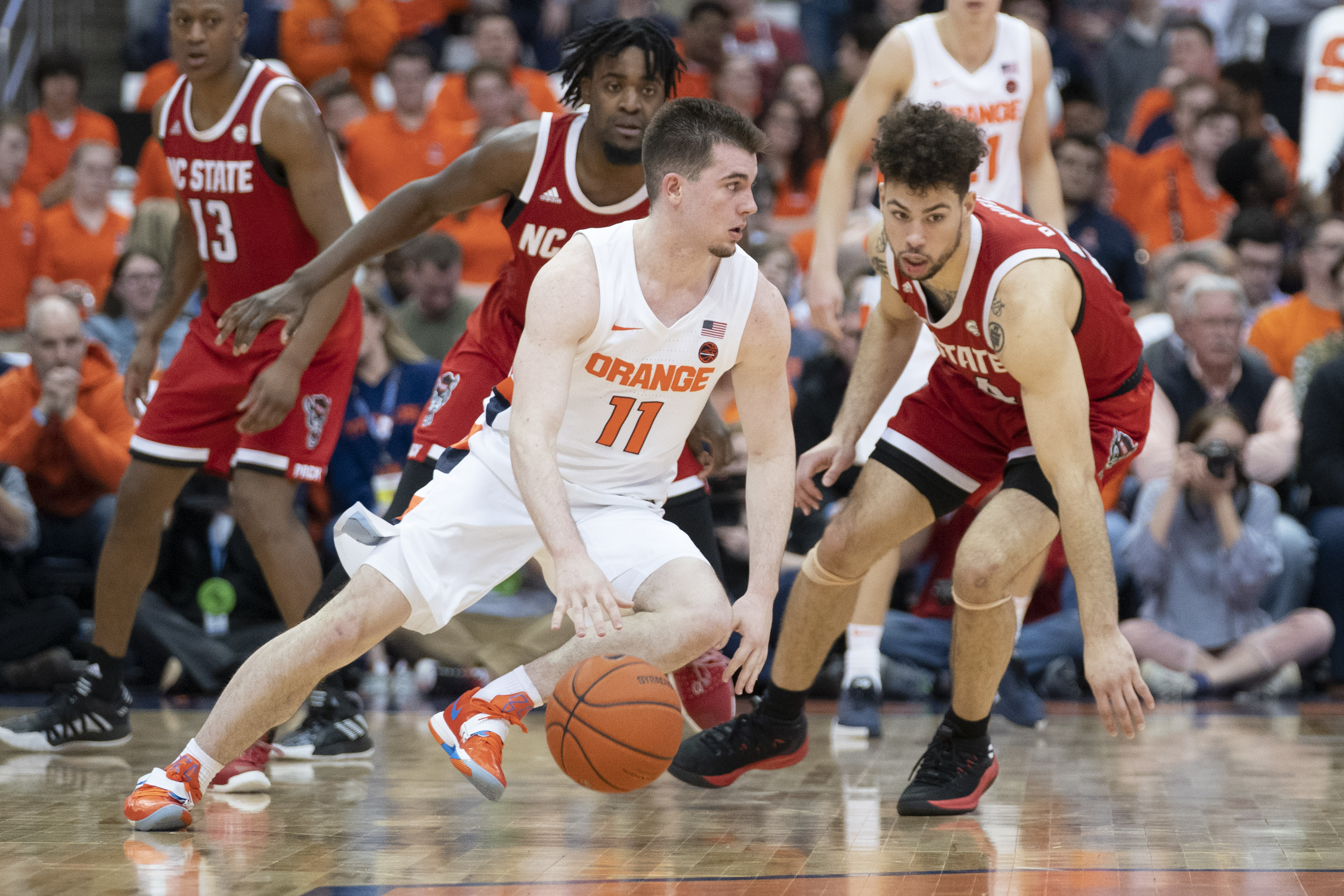 COLLEGE BASKETBALL: FEB 11 NC State at Syracuse