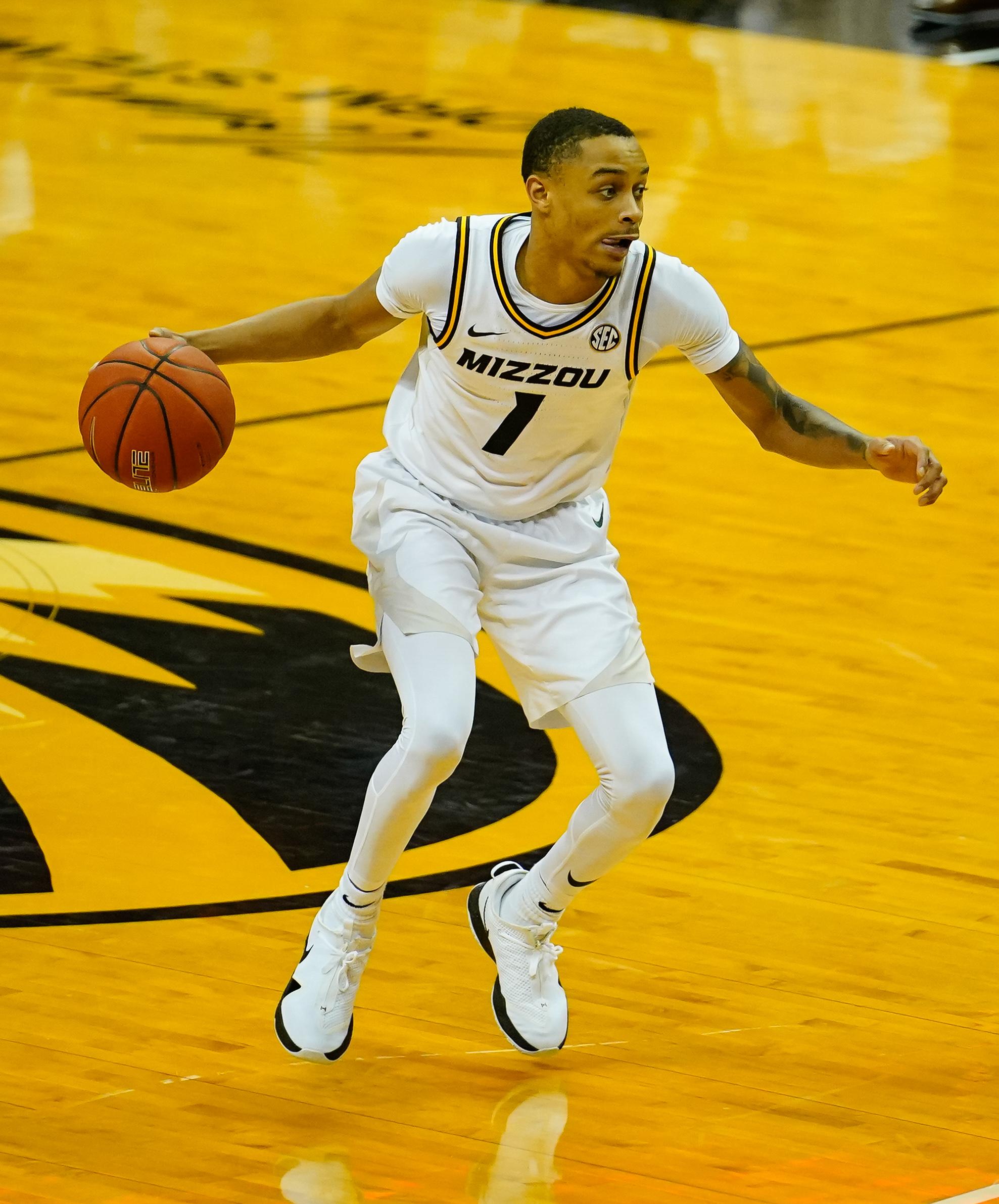 NCAA Basketball: South Carolina at Missouri