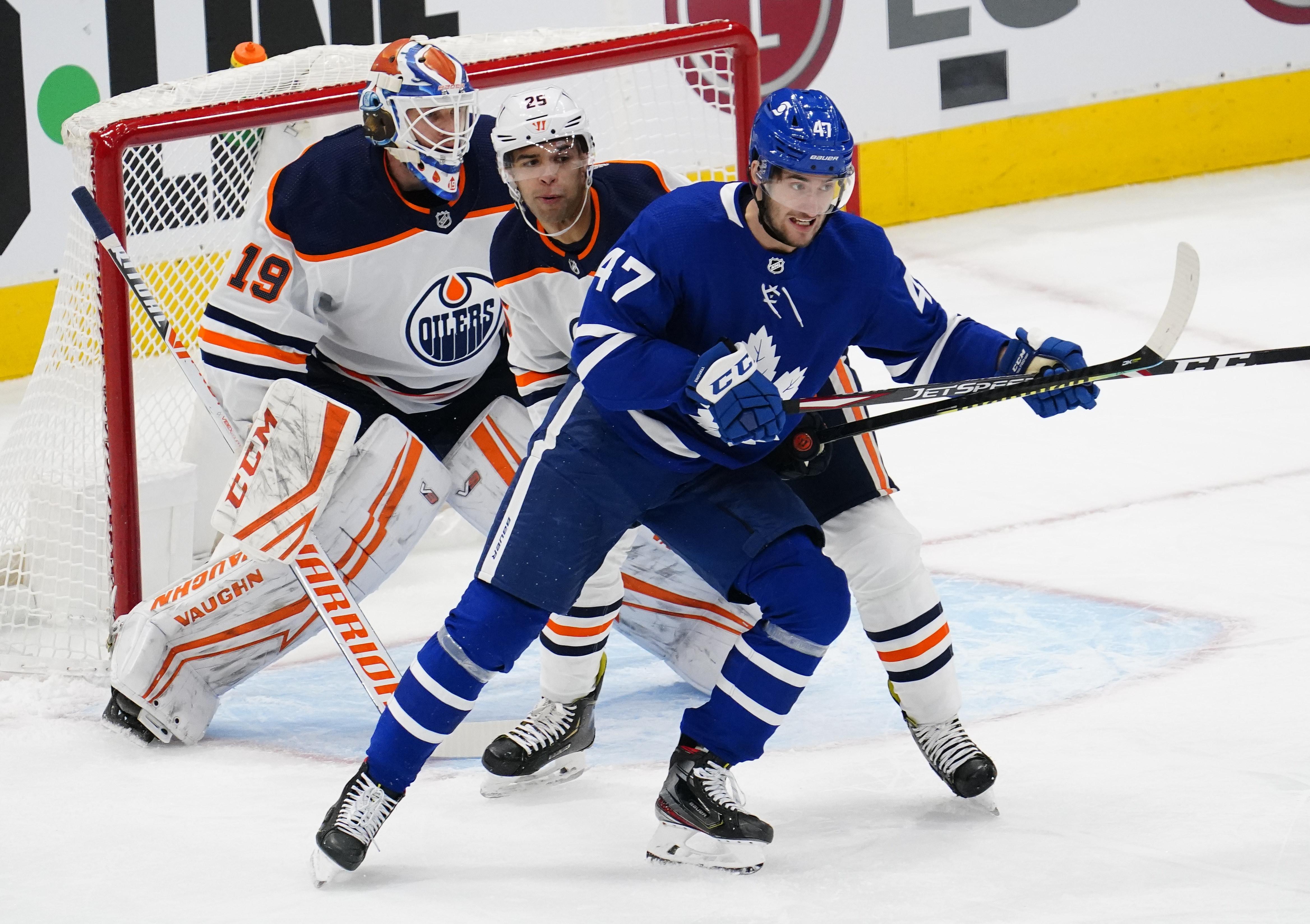NHL: Edmonton Oilers at Toronto Maple Leafs