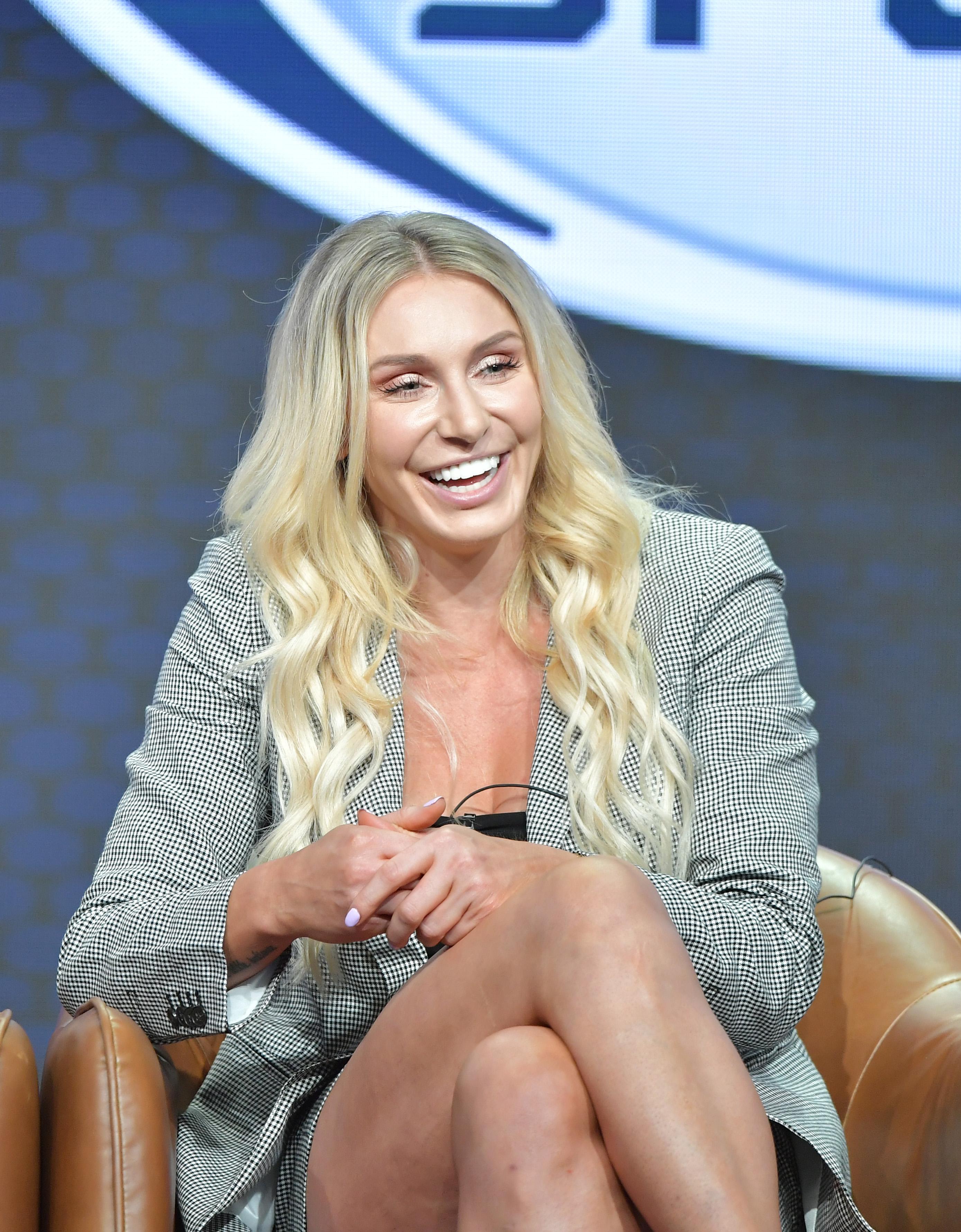福克斯体育运动夏洛特的Flair在2019年夏季TCA新闻之旅的福克斯队在2019年8月7日的贝弗利希尔顿酒店在加利福尼亚州比佛利山口的贝弗利希尔顿酒店。