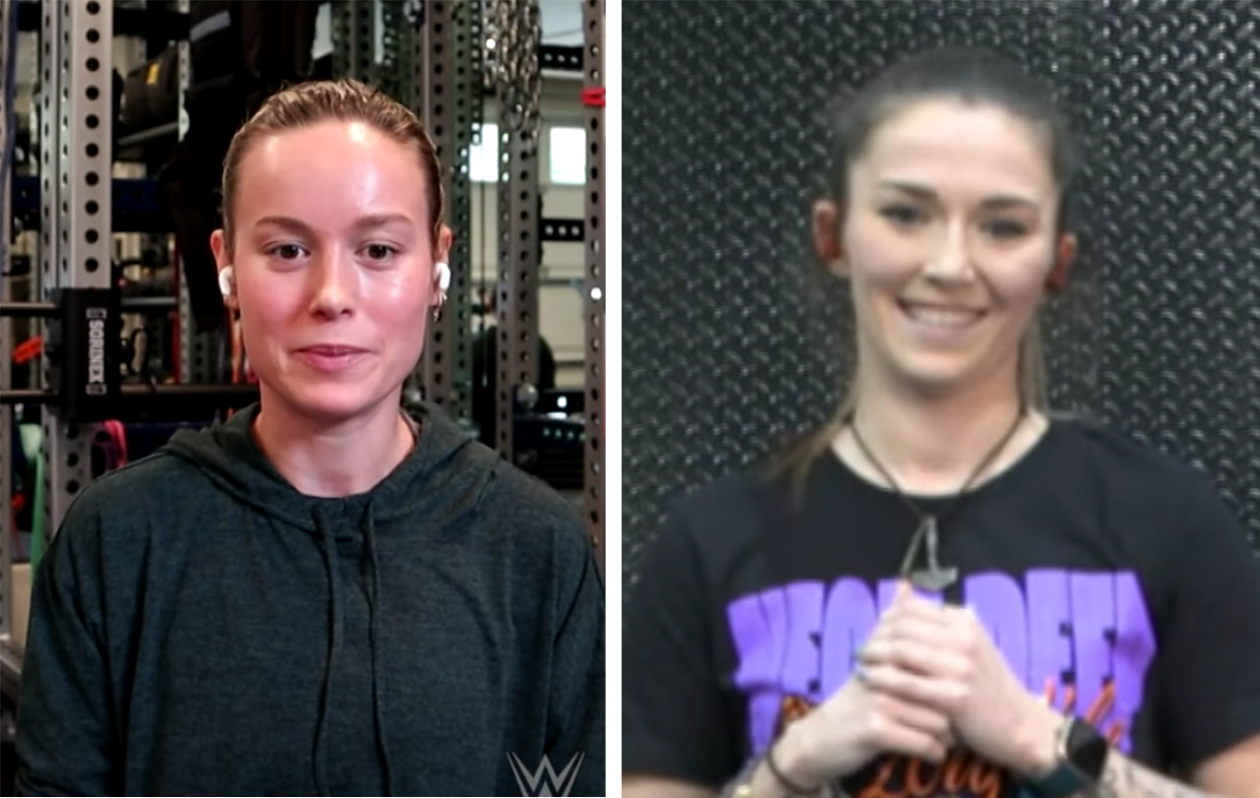 Captain Marvel actress Brie Larson trained with Tegan Knox of the WWE on YouTube