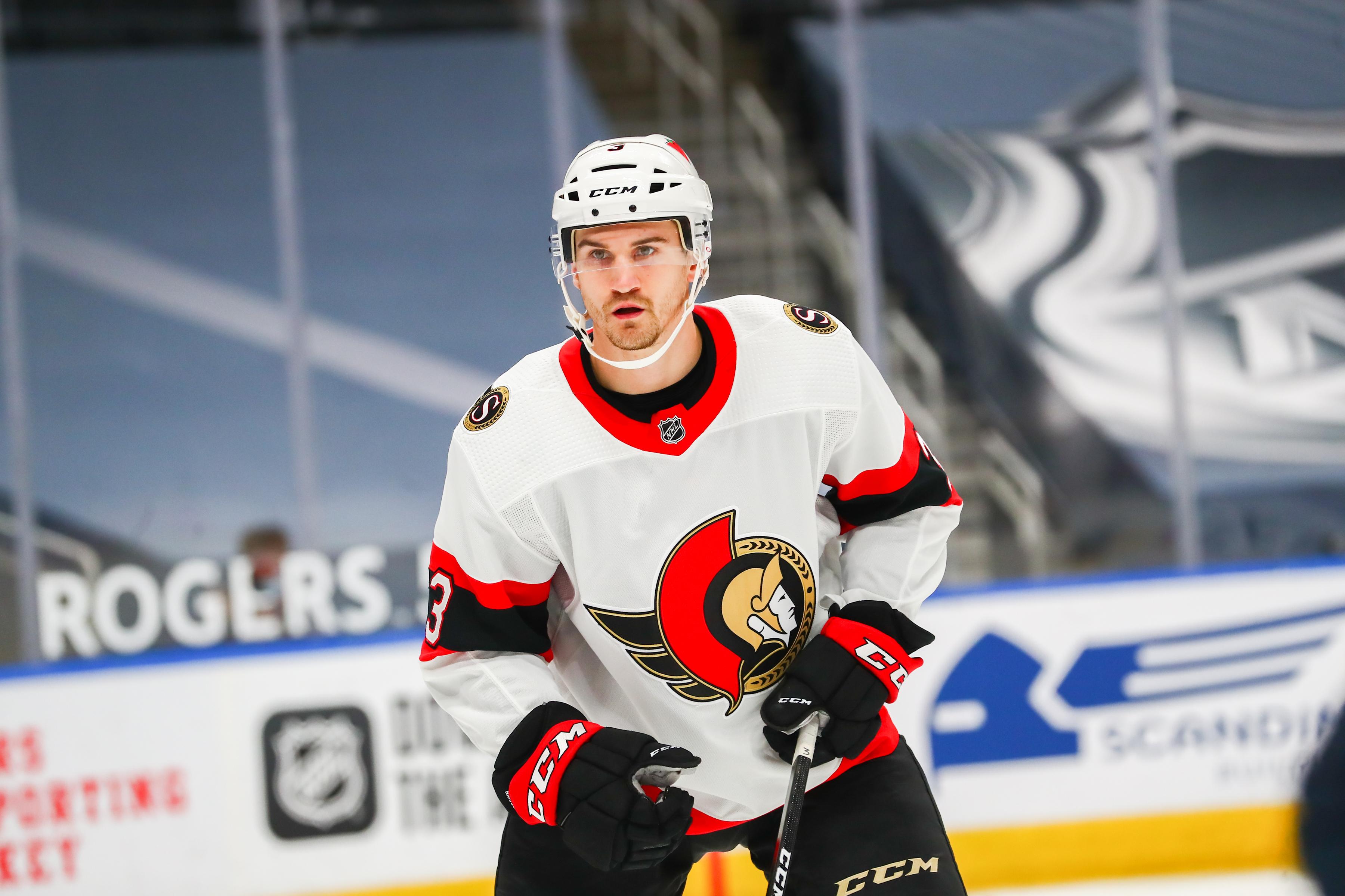 NHL: JAN 31 Senators at Oilers