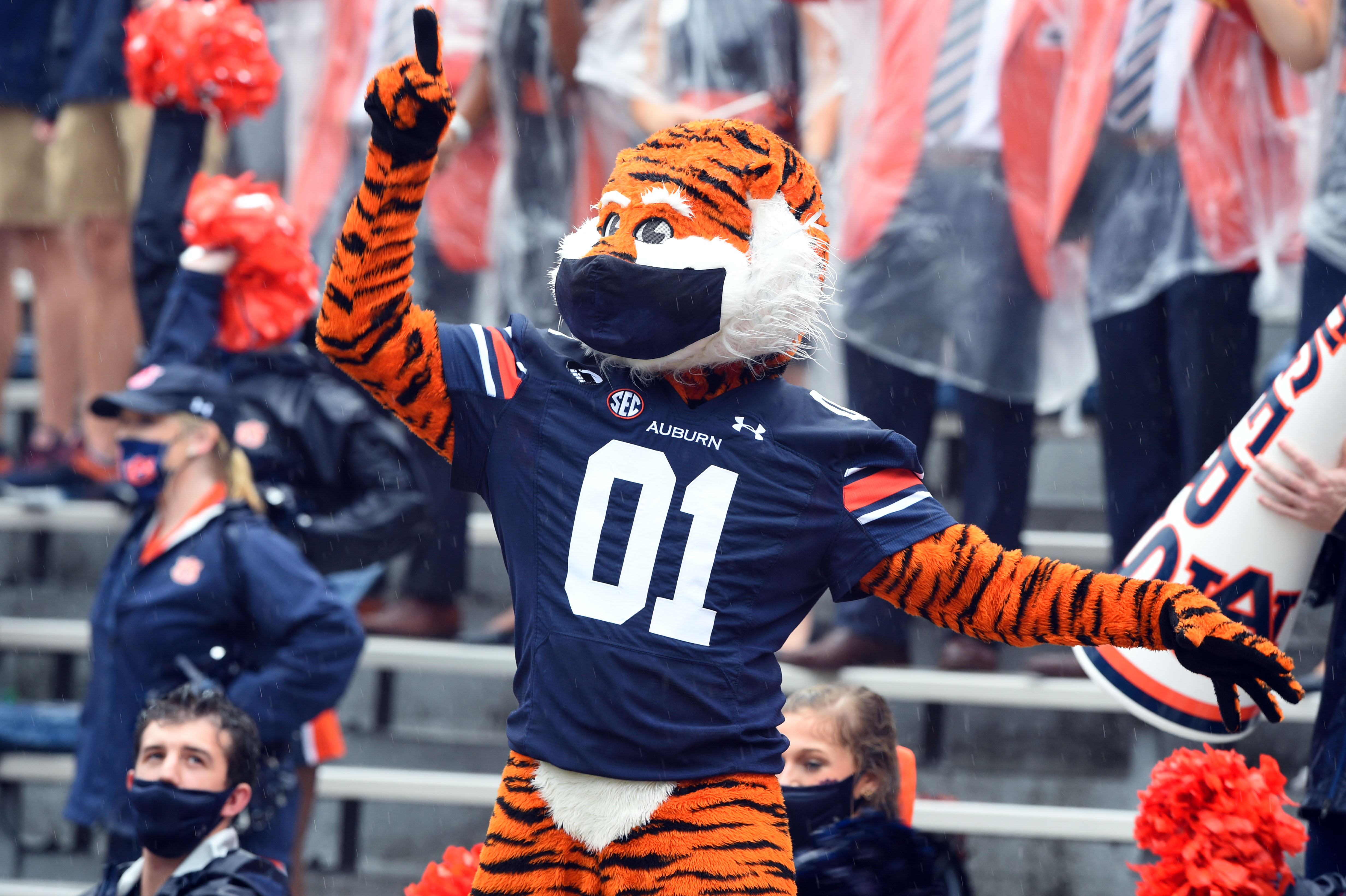 NCAA Football: Arkansas at Auburn