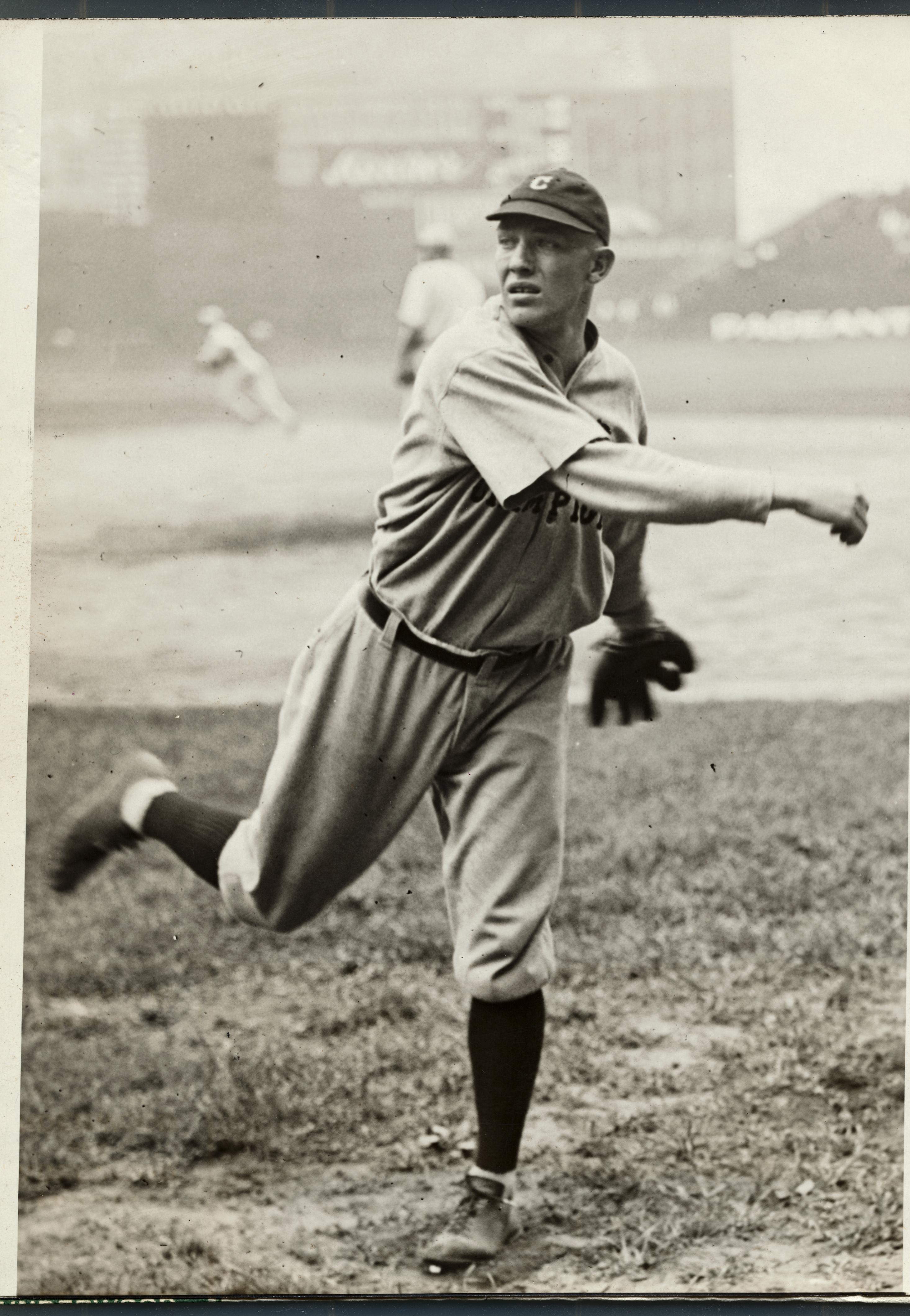 George Uhle on the Baseball Field