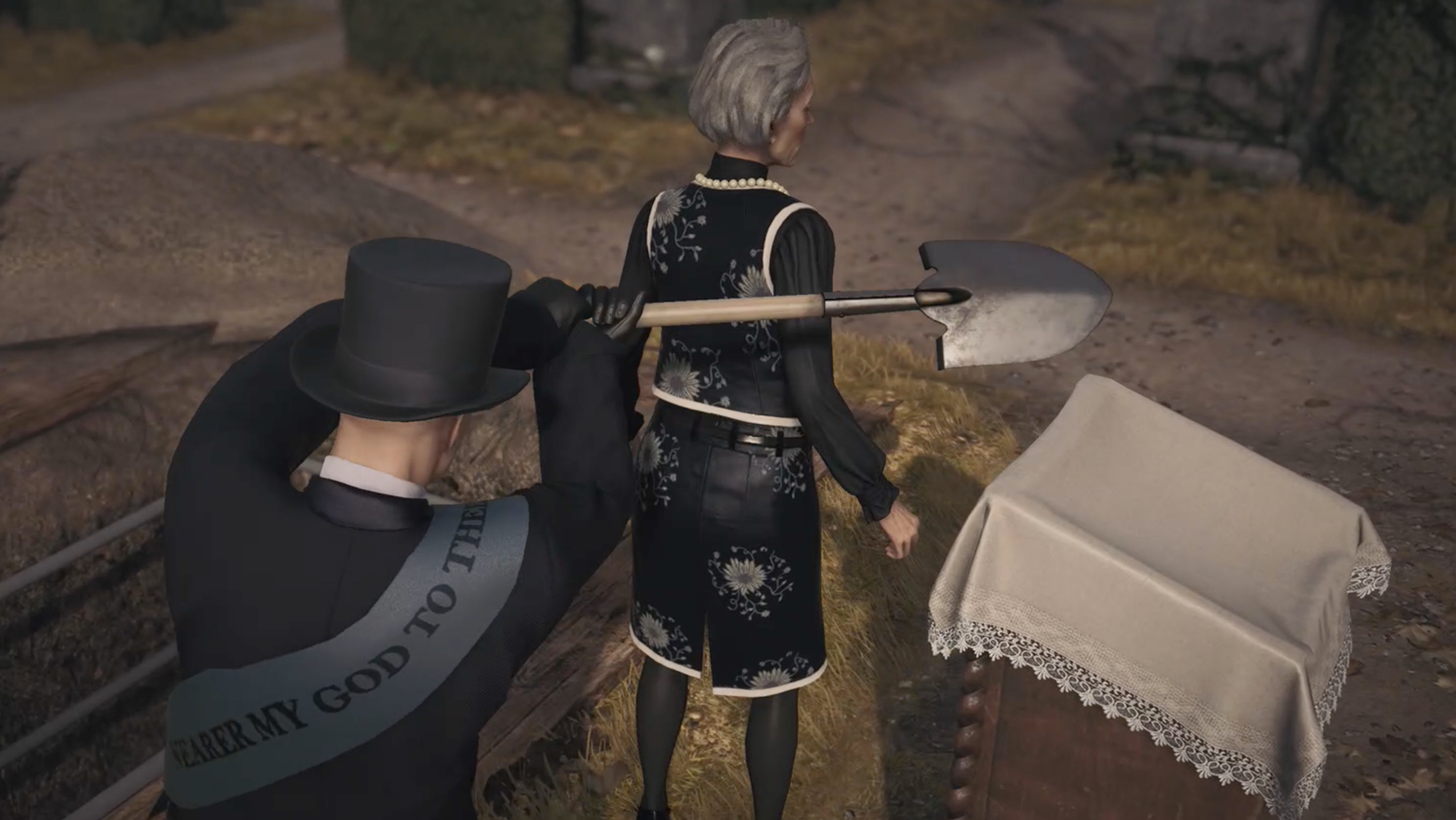 Her Final Resting Place Hitman 3 Dartmoor guide and walkthrough