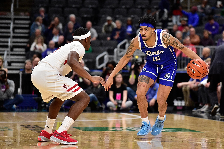 NCAA Basketball: Missouri Valley Conference Tournament-Bradley vs Drake