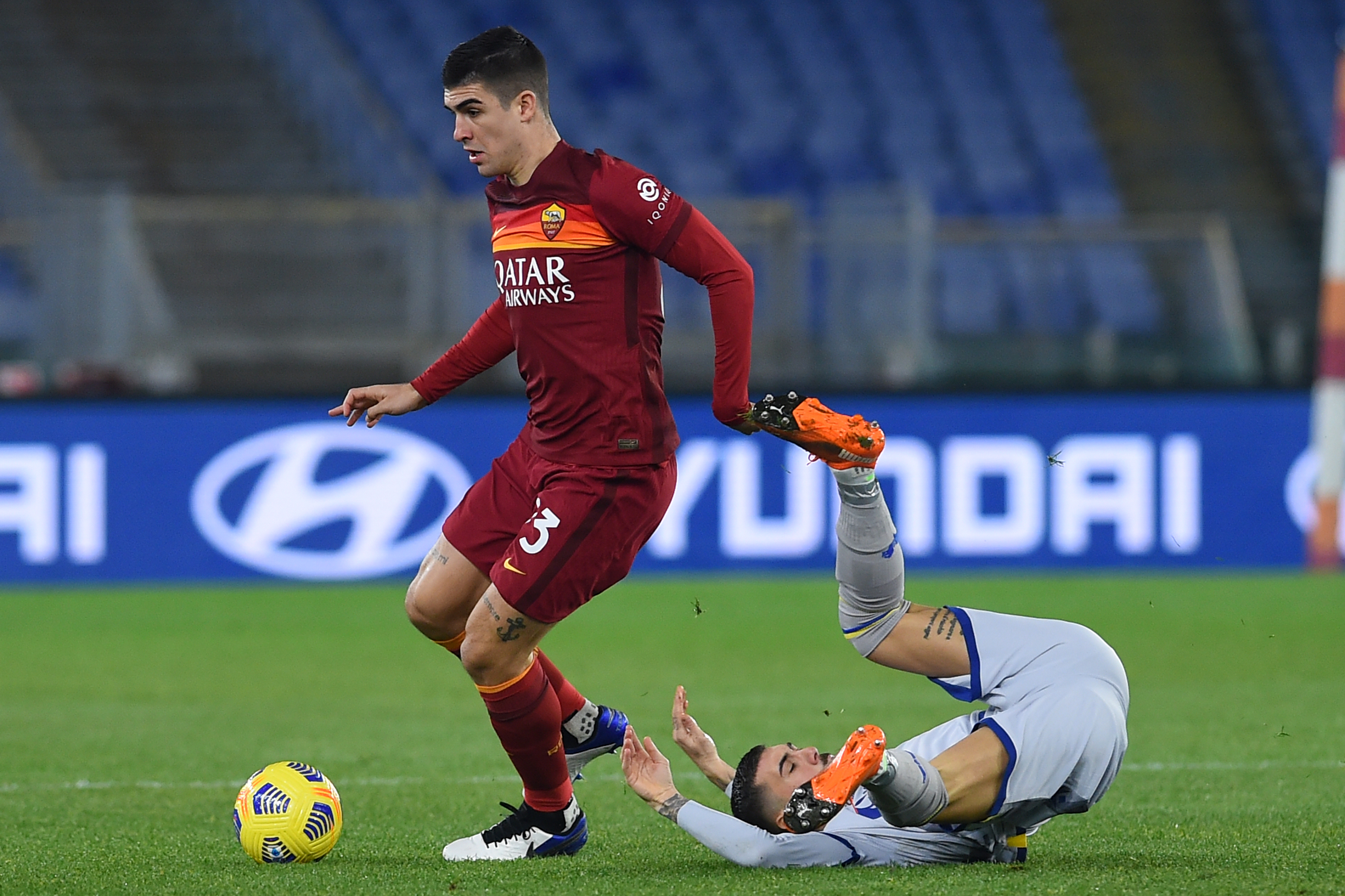 Football Serie A As Roma-Hellas Verona