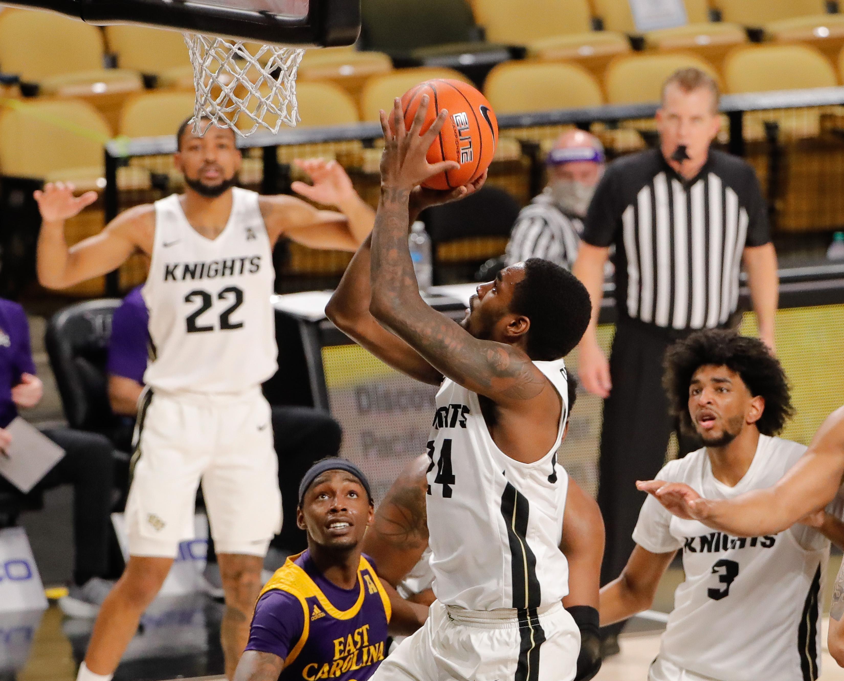 NCAA Basketball: East Carolina at Central Florida