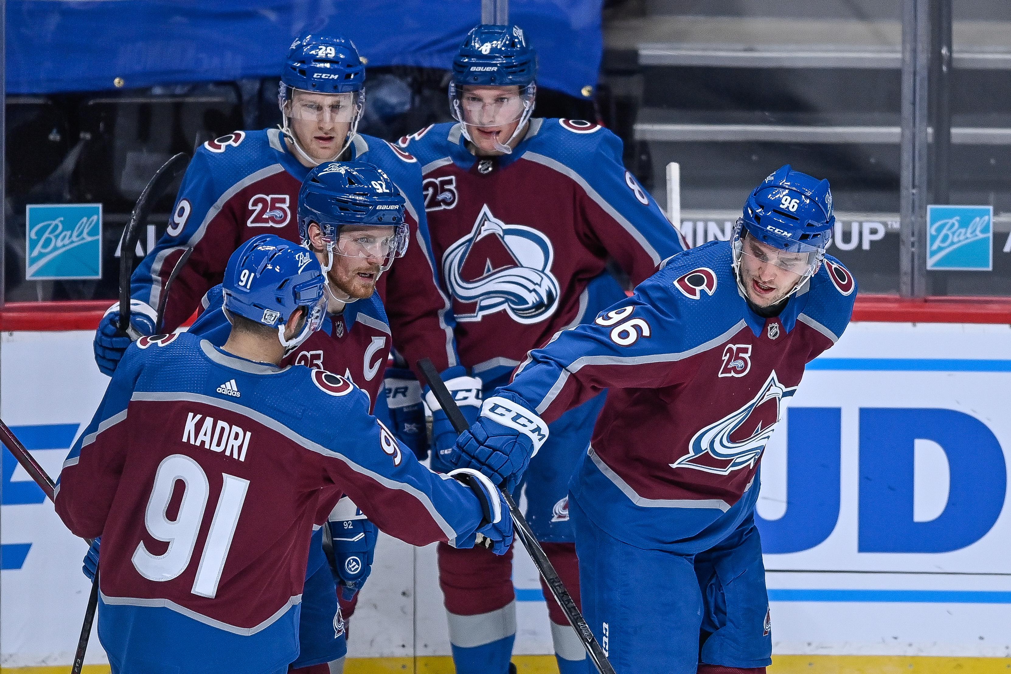 NHL: JAN 26 Sharks at Avalanche