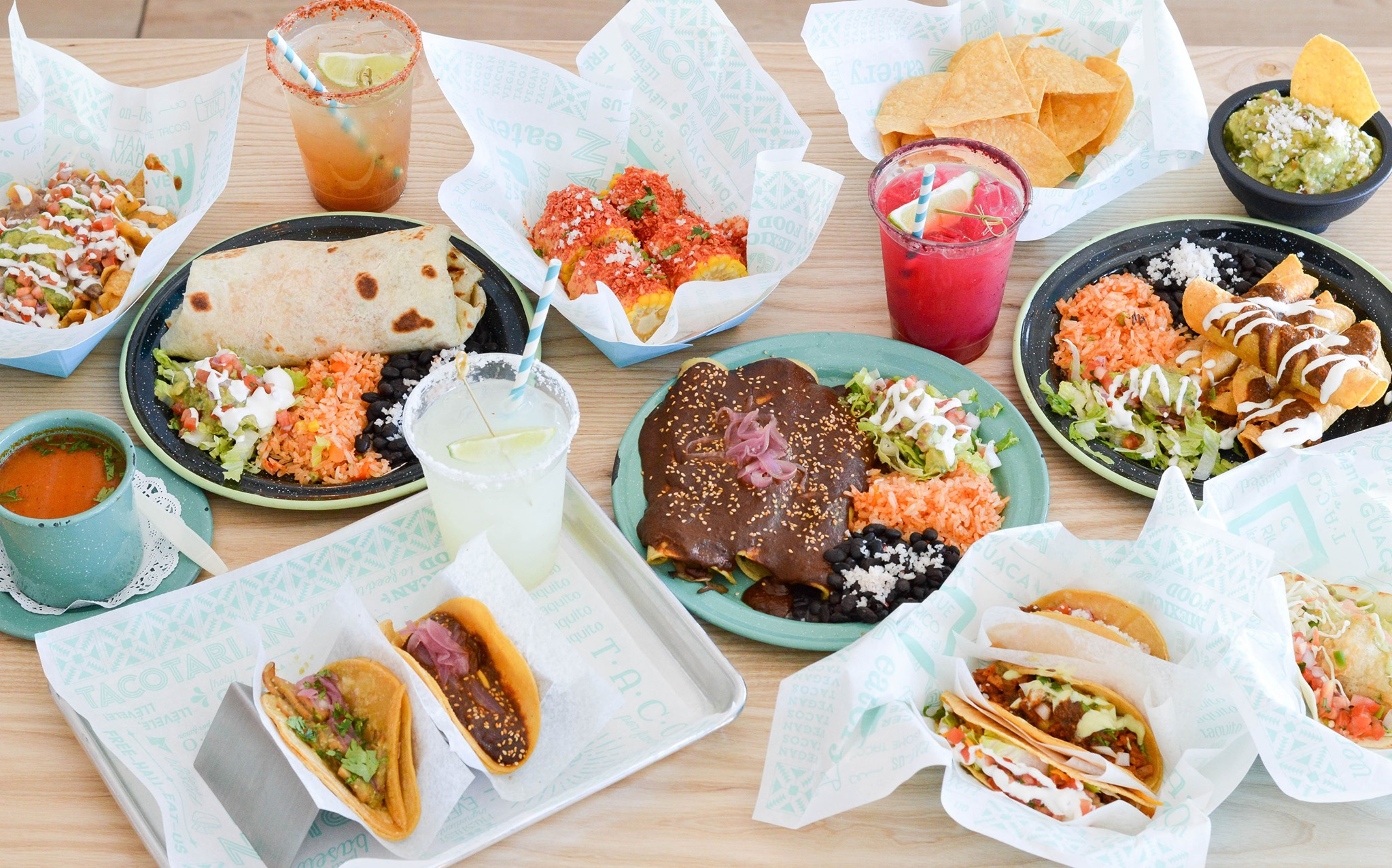 Tacos, margaritas, and more