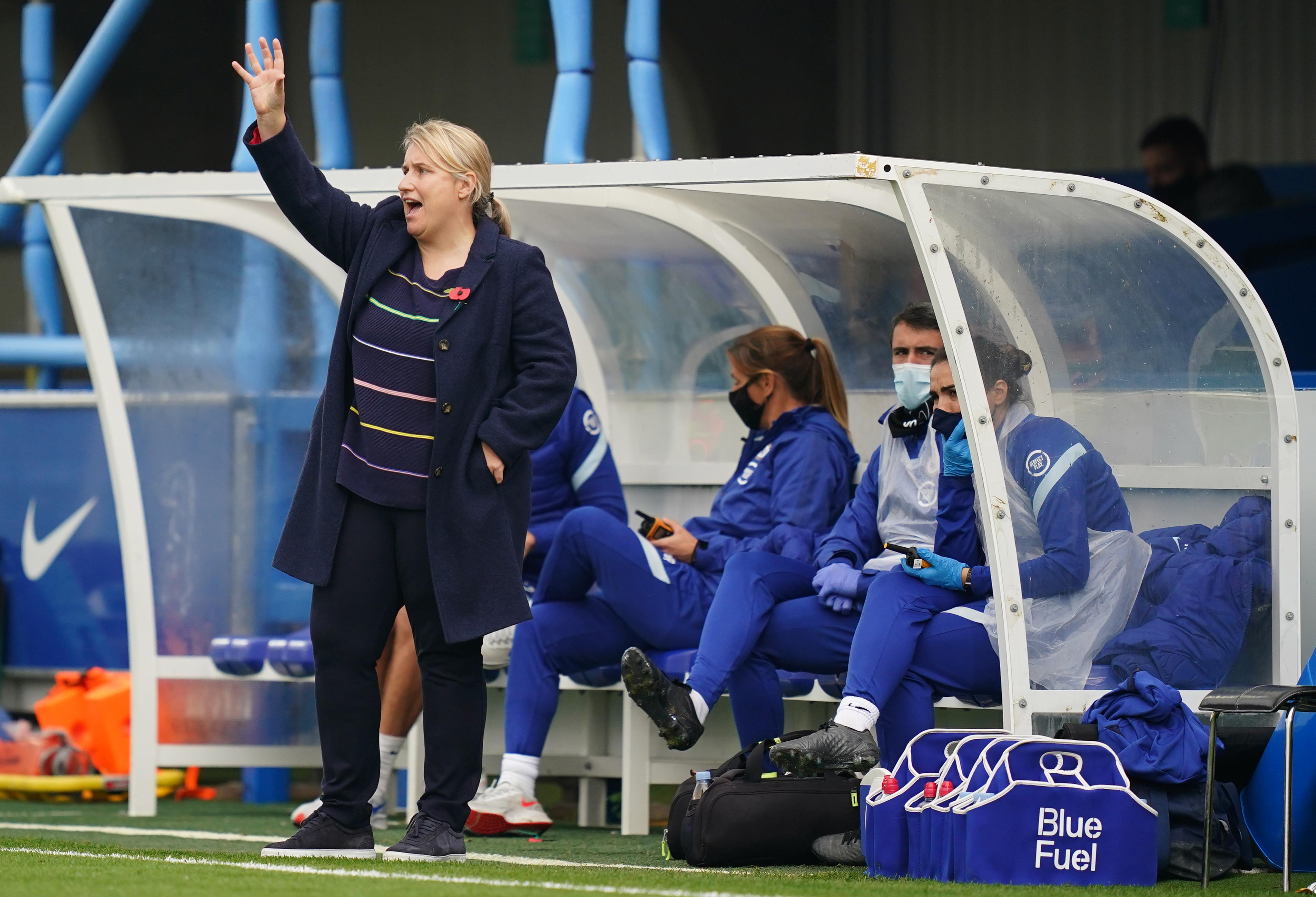 切尔西v everton  -  FA女式超级联赛 - 金斯曼