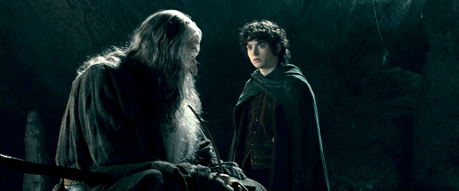 Frodo and Gandalf talk about how many who live to see such times wish they had not in the Fellowship of the Ring.