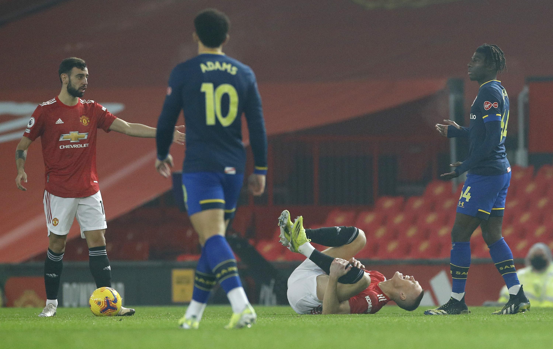 Manchester United v Southampton - Premier League, Alex Jankewitz, red card, racism