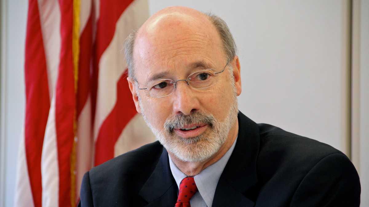 A head shot of Gov. Tom Wolf of Pennsylvania.