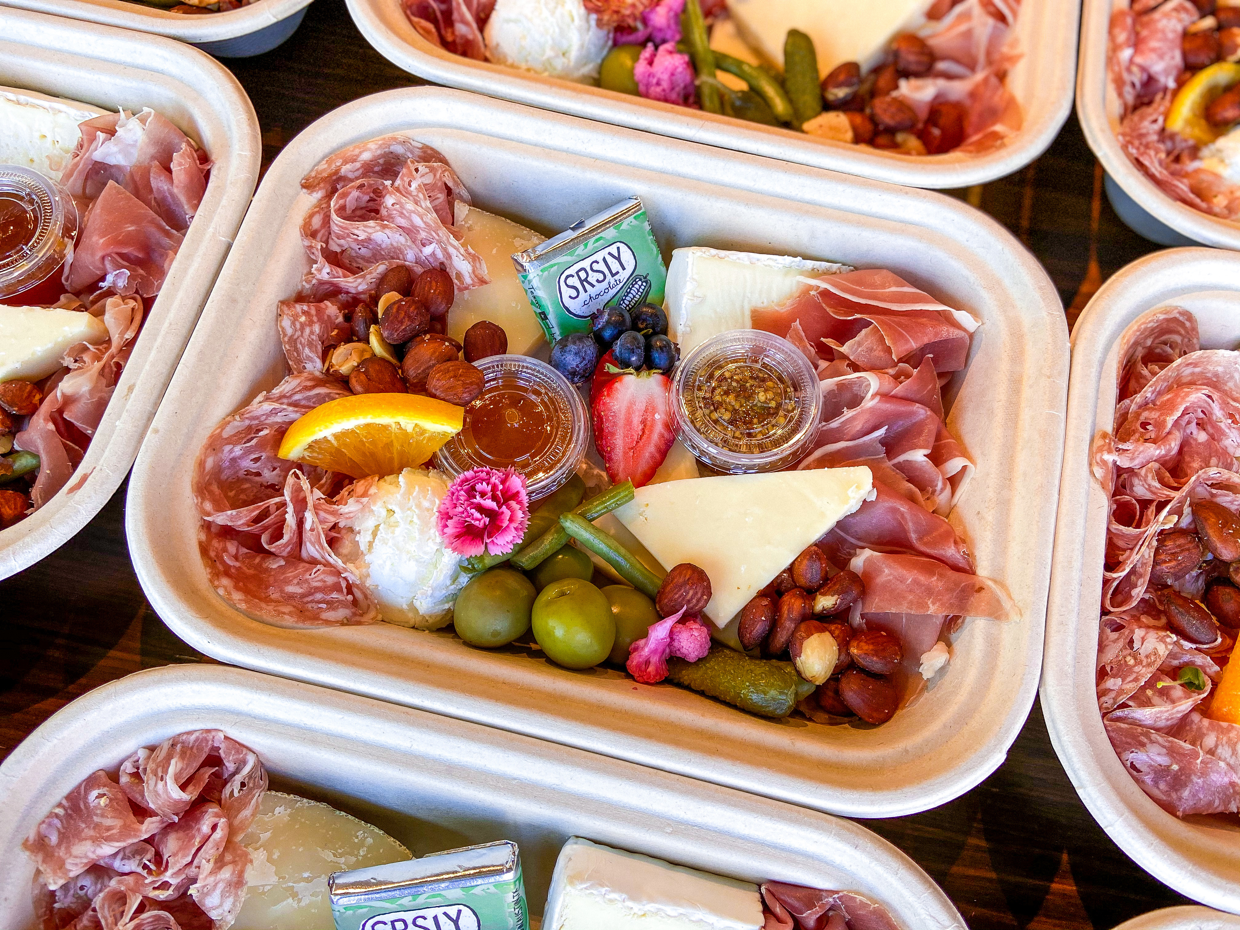 Cheese and charcuterie packs from Spread & Co.