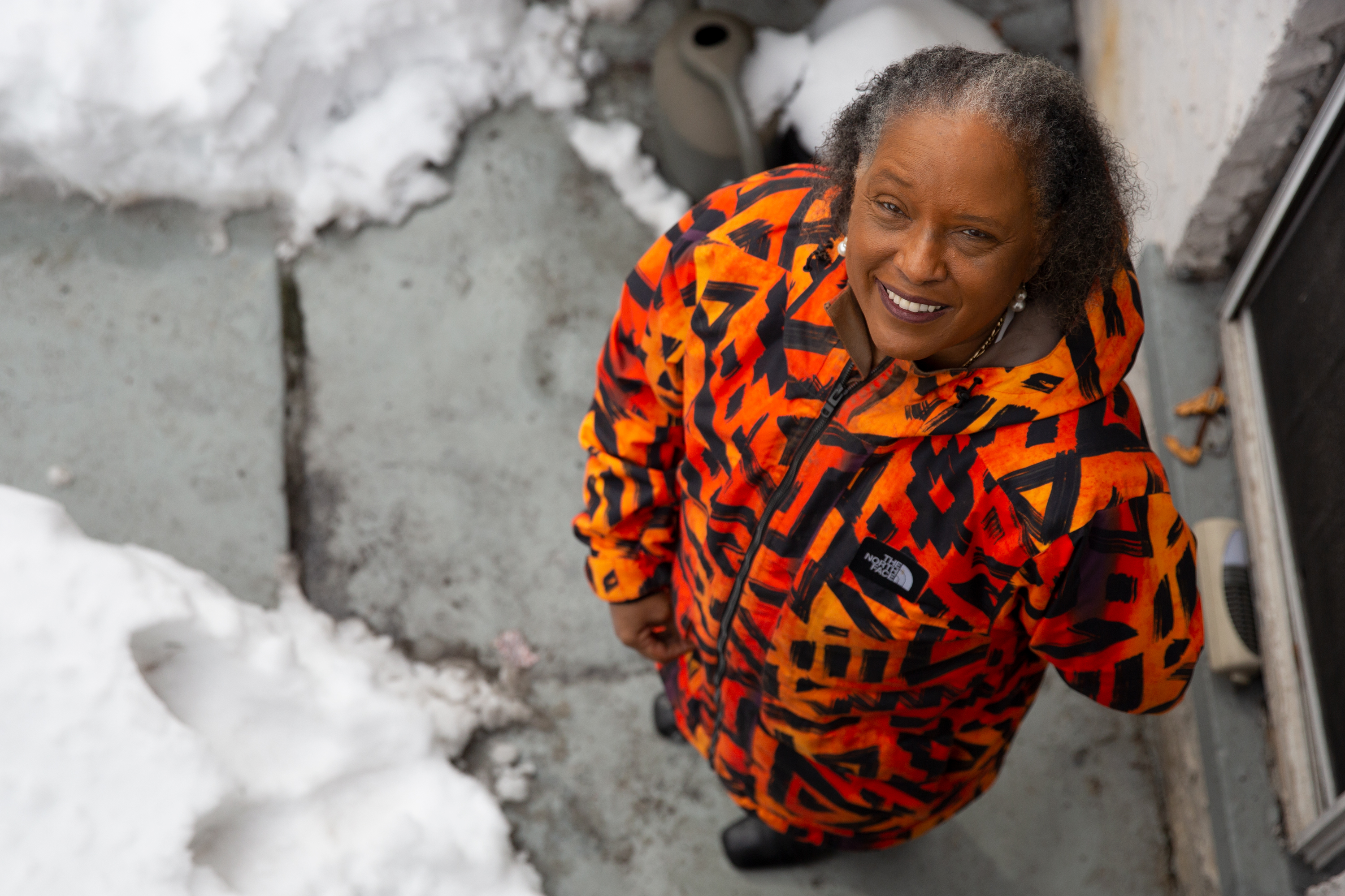 Carolyn Jones is calling on Governor Andrew Cuomo to grant clemency to the man convicted of shooting her in the head outside a Brooklyn church, Feb. 3, 2021.