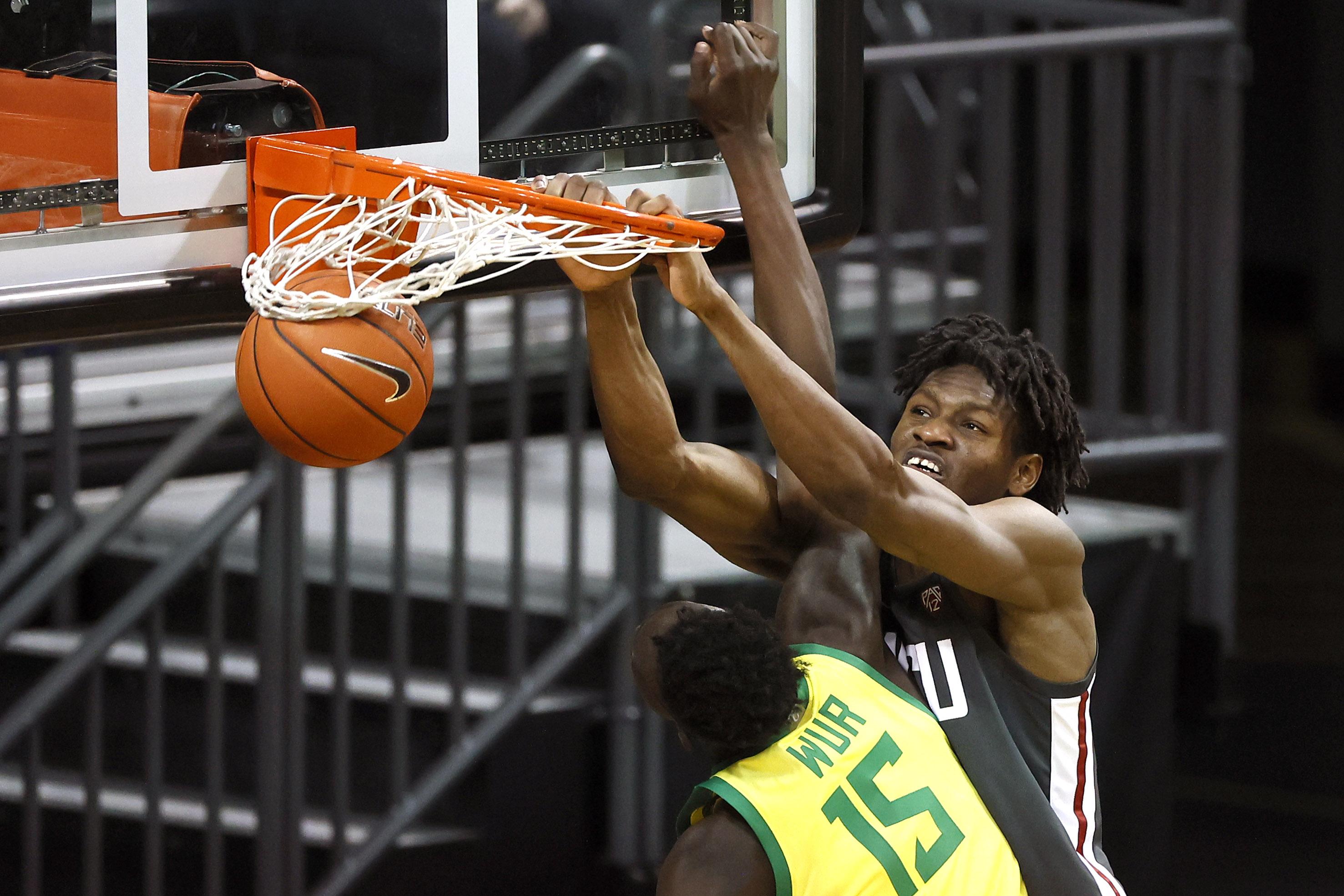 NCAA Basketball: Washington State at Oregon