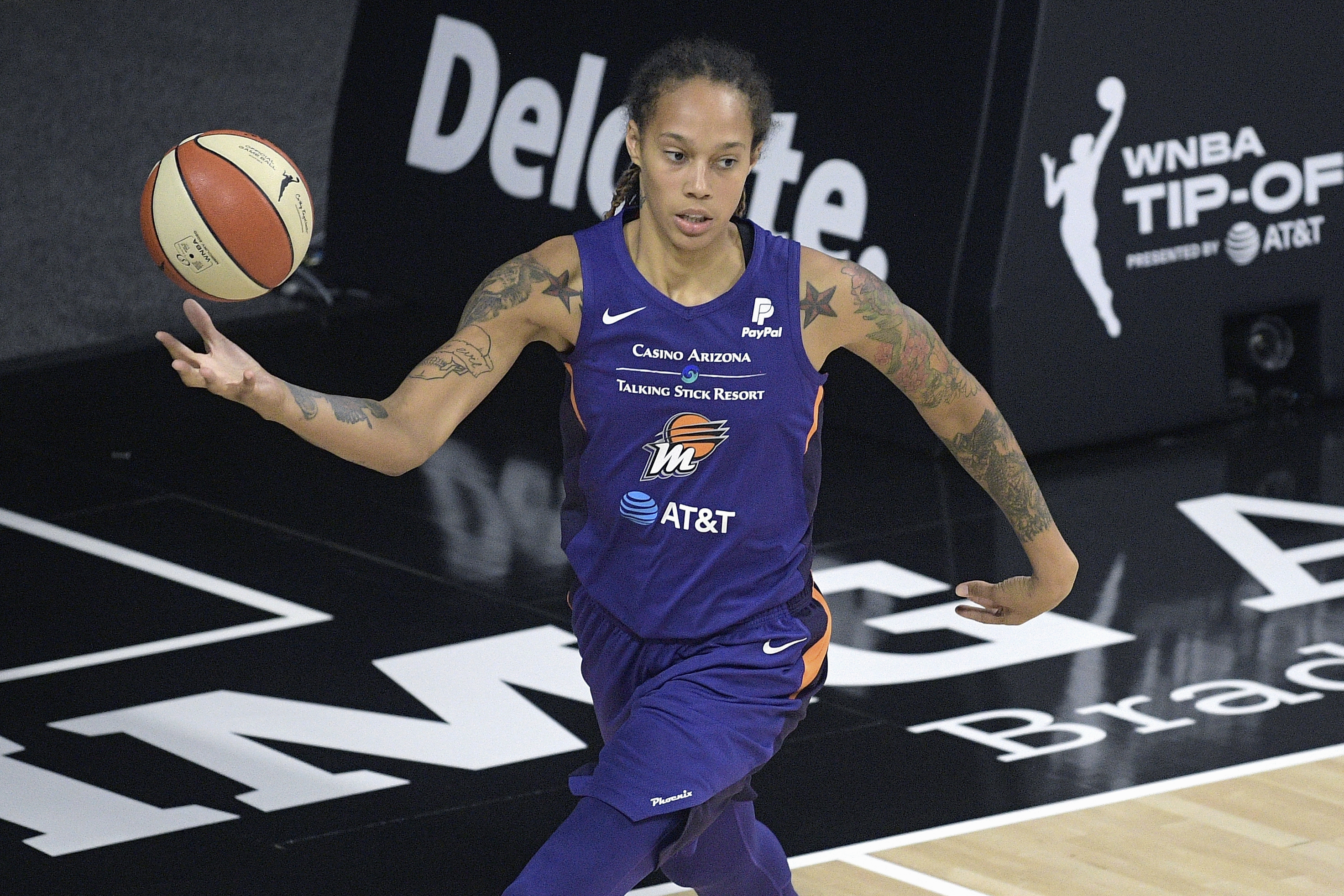 The Phoenix Mercury's Brittney Griner said that she left the WNBA bubble last summer because of mental health reasons and has been undergoing counseling.