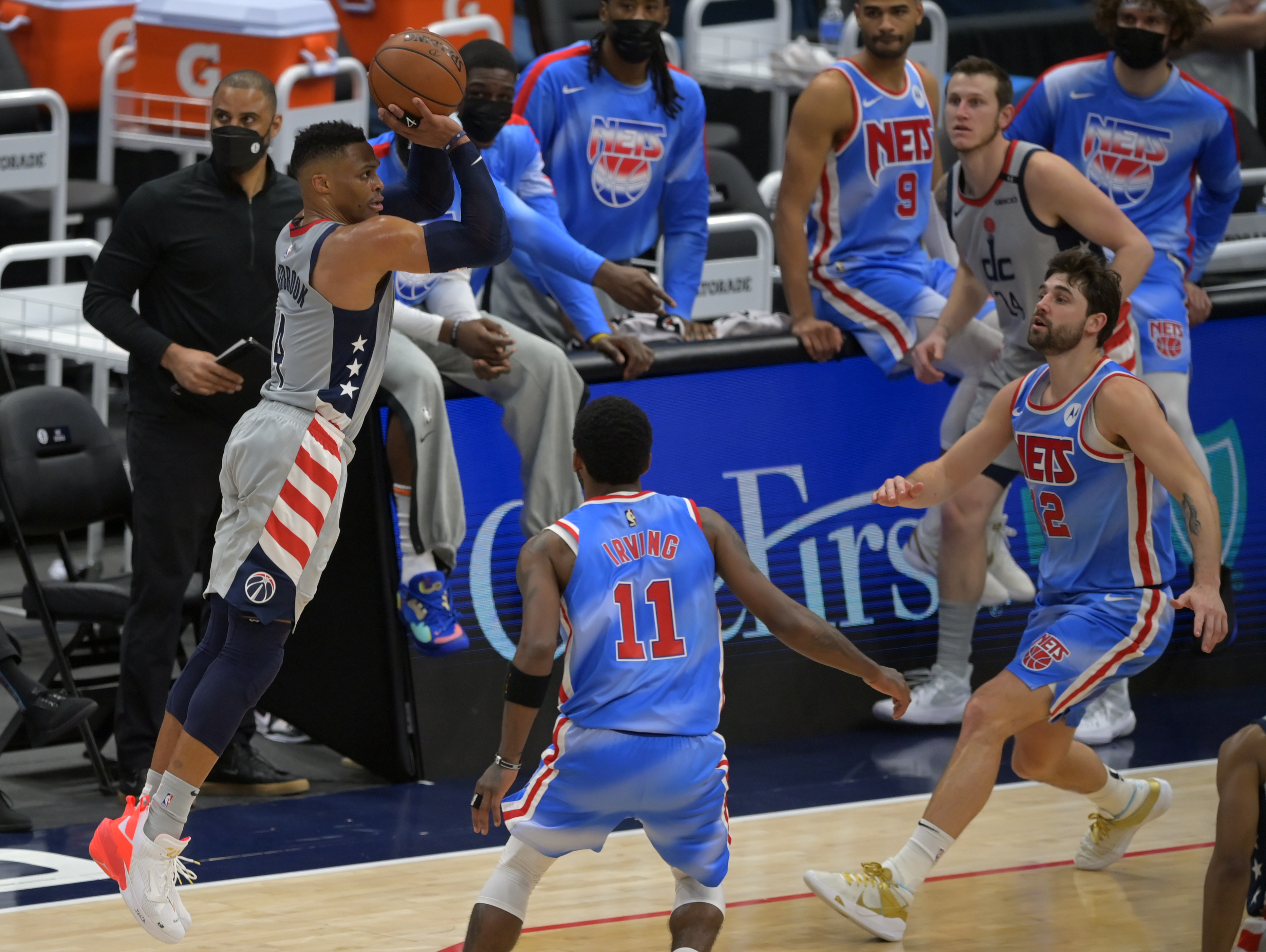 Washington Wizards and Brooklyn Nets