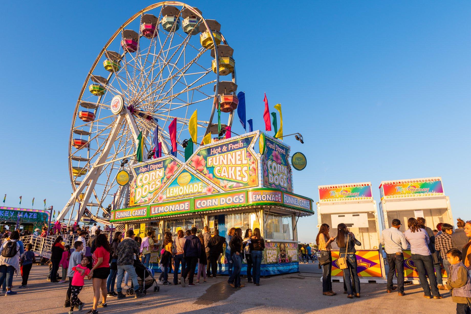 Rodeo Austin's carnival in 2019