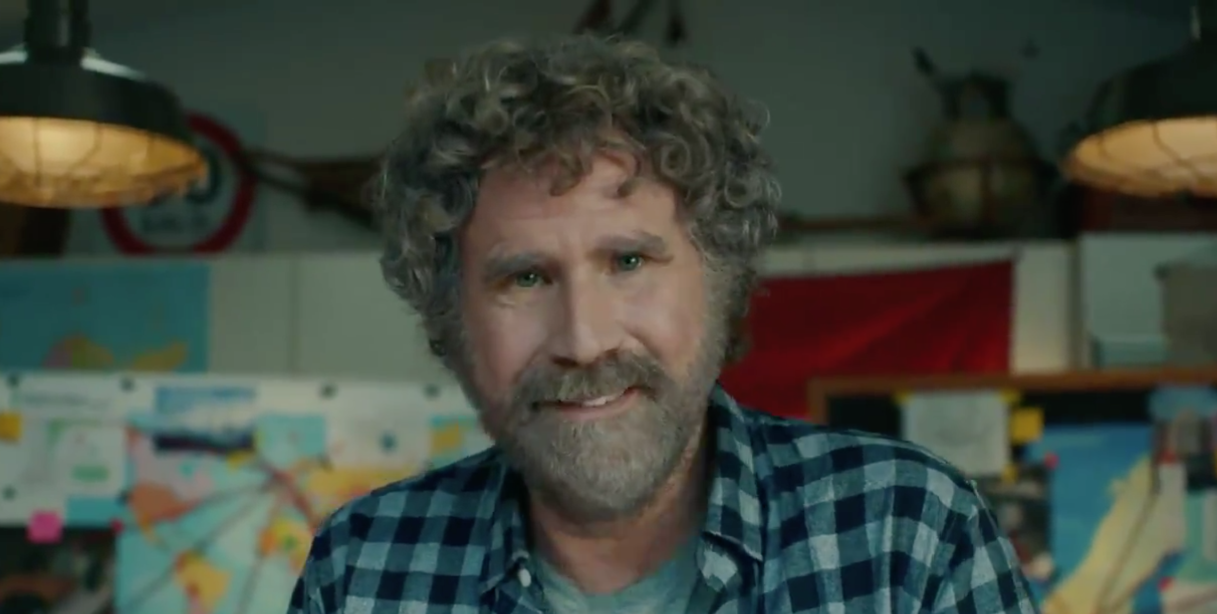 Will Ferrell appears in a new GM ad about electric vehicles.