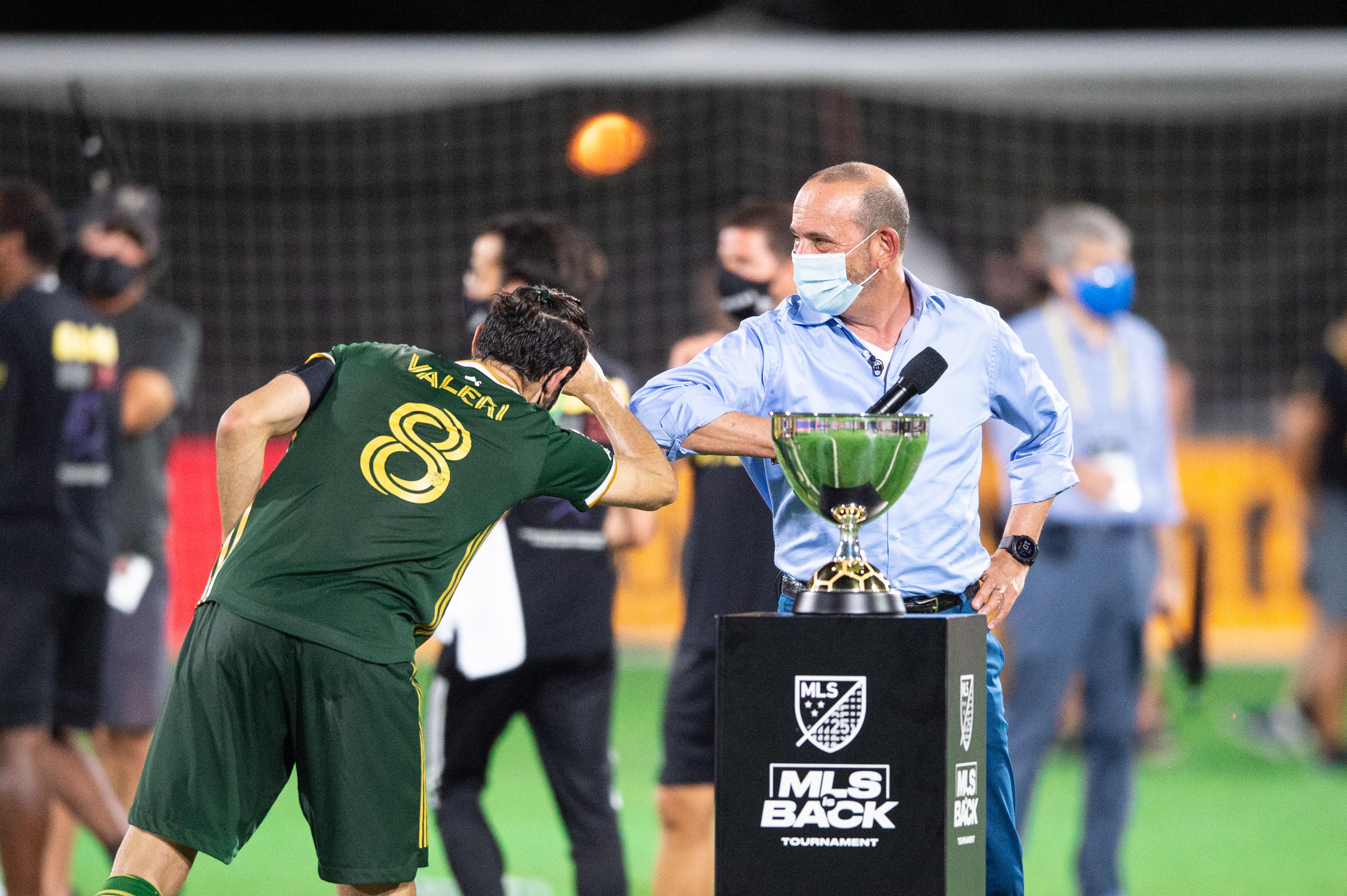 Portland Timbers v Orlando City SC: Championship - MLS Is Back Tournament