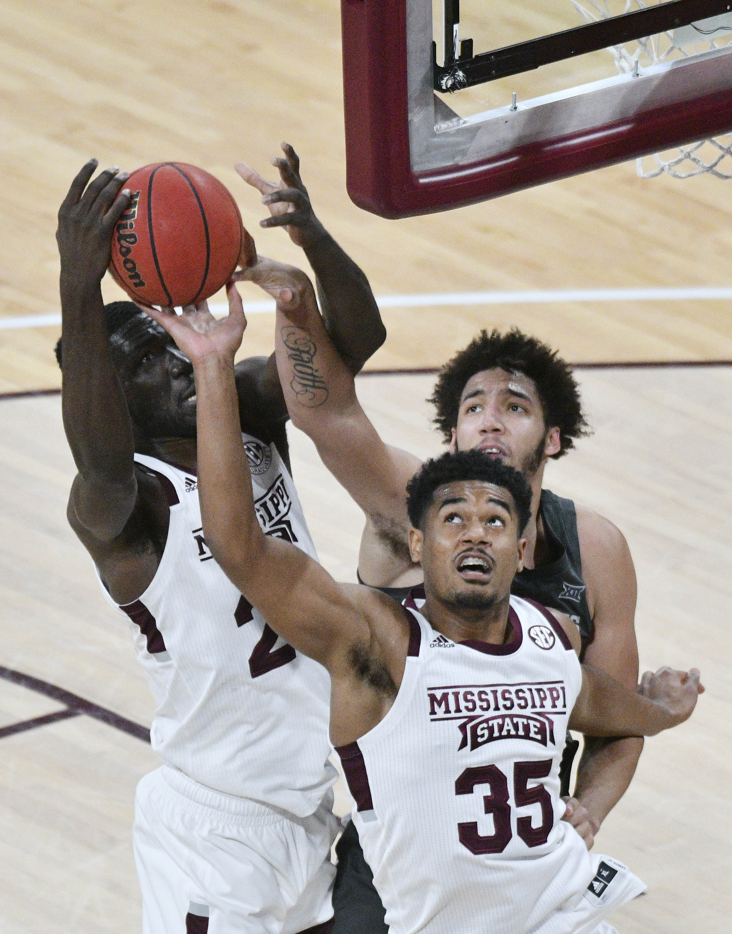 NCAA Basketball: Iowa State at Mississippi State